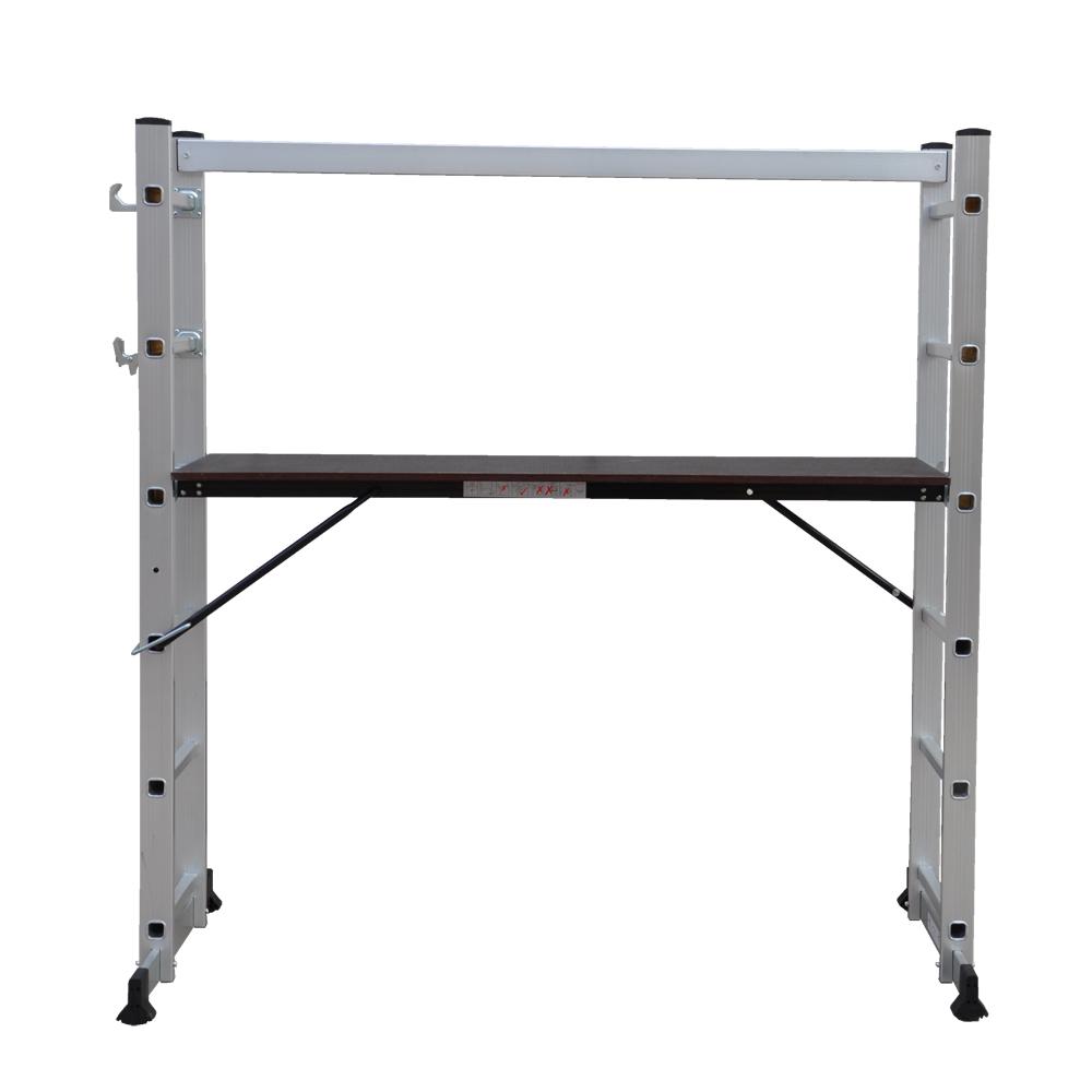 New Multi Purpose Diy Step Ladder Aluminium 5 Way Scaffold