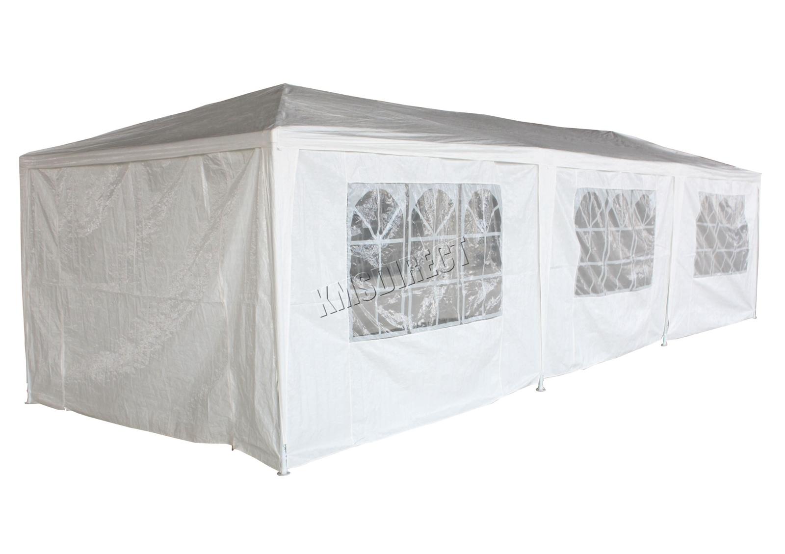 Panana 3x6m Garden Gazebo Outdoor Party Tent Waterproof Marquee Canopy Wedding