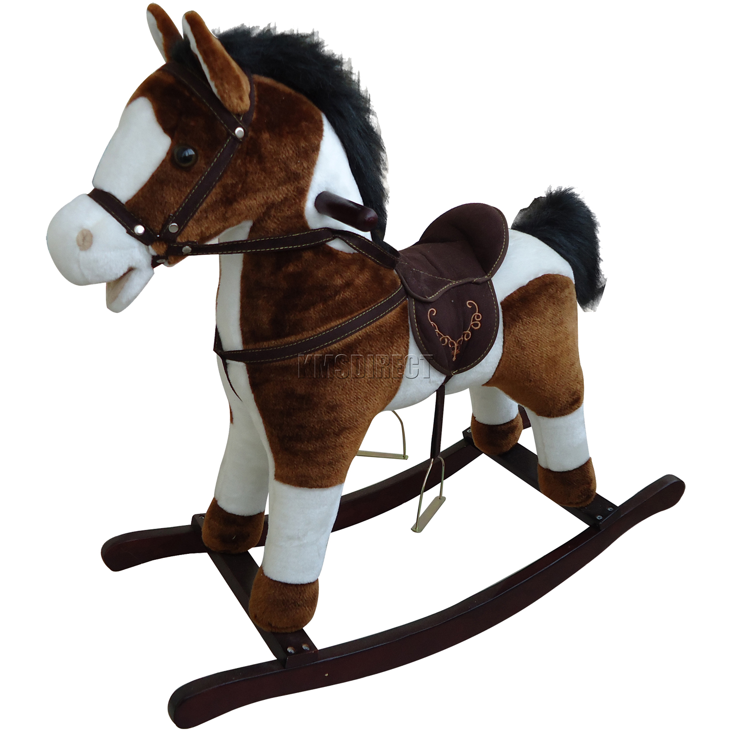 New Children Rocking Horse With Sound Great Traditional