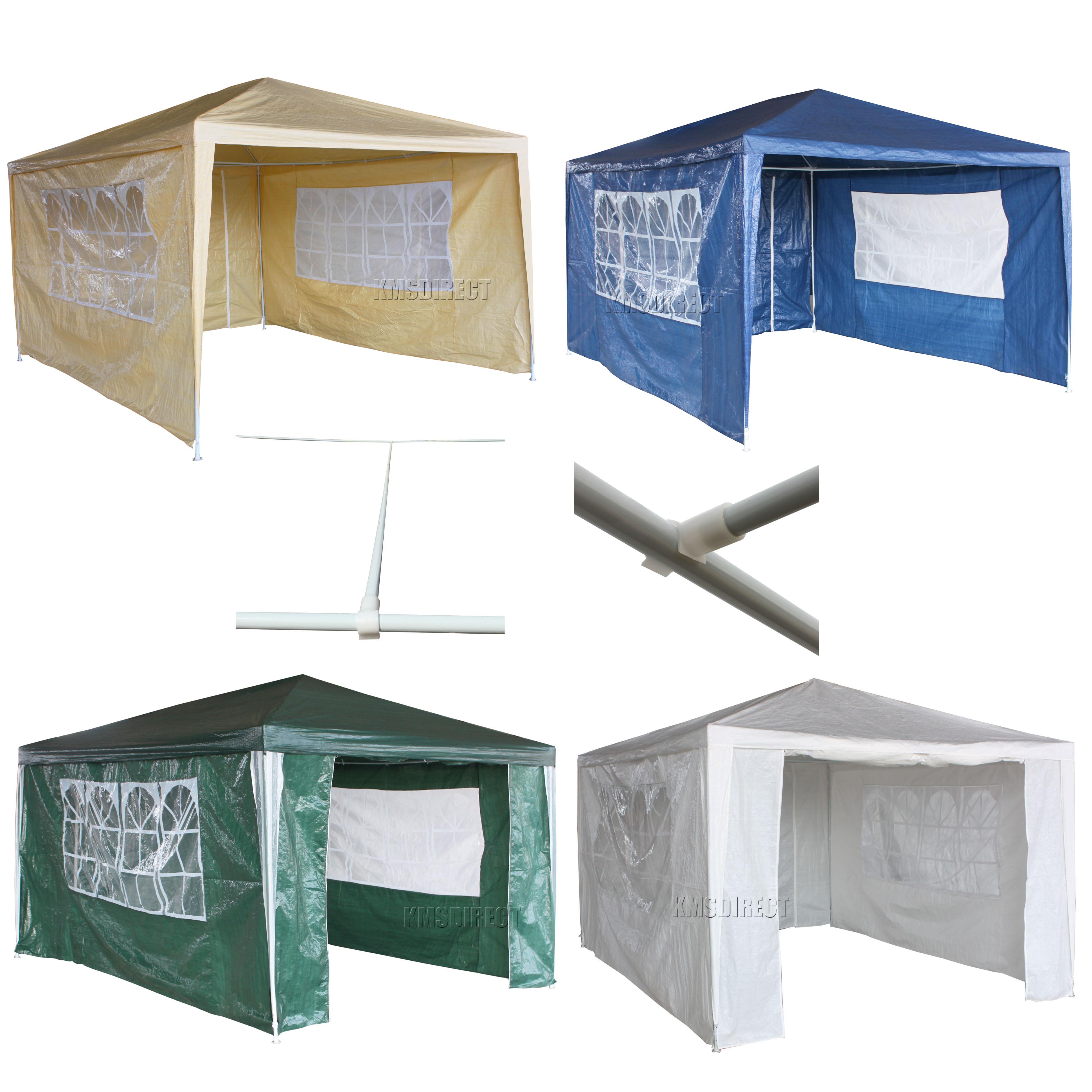 Zelt 3 4 M : Neu m g wasserdicht für draußen pe garten pavillon