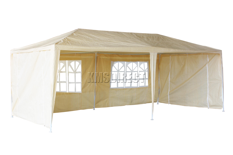 120g wasserdicht 3mx6m pe gartenpavillon party zelt festzelt markise baldachin ebay. Black Bedroom Furniture Sets. Home Design Ideas