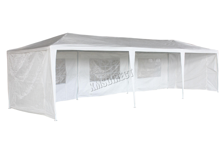 3m x 9m 120g Waterproof Outdoor PE Garden Gazebo Marquee