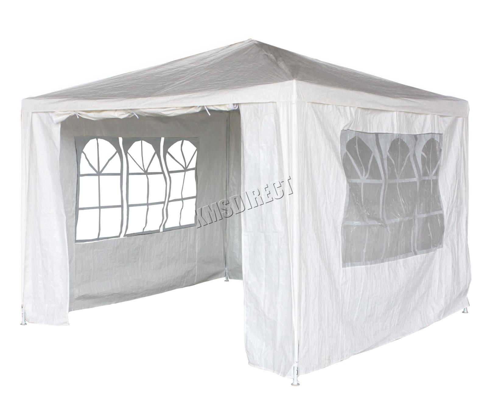 New-3-x-3m-120g-Waterproof-Outdoor-PE-Garden-Gazebo-Marquee-Canopy-Party-Tent Indexbild 25