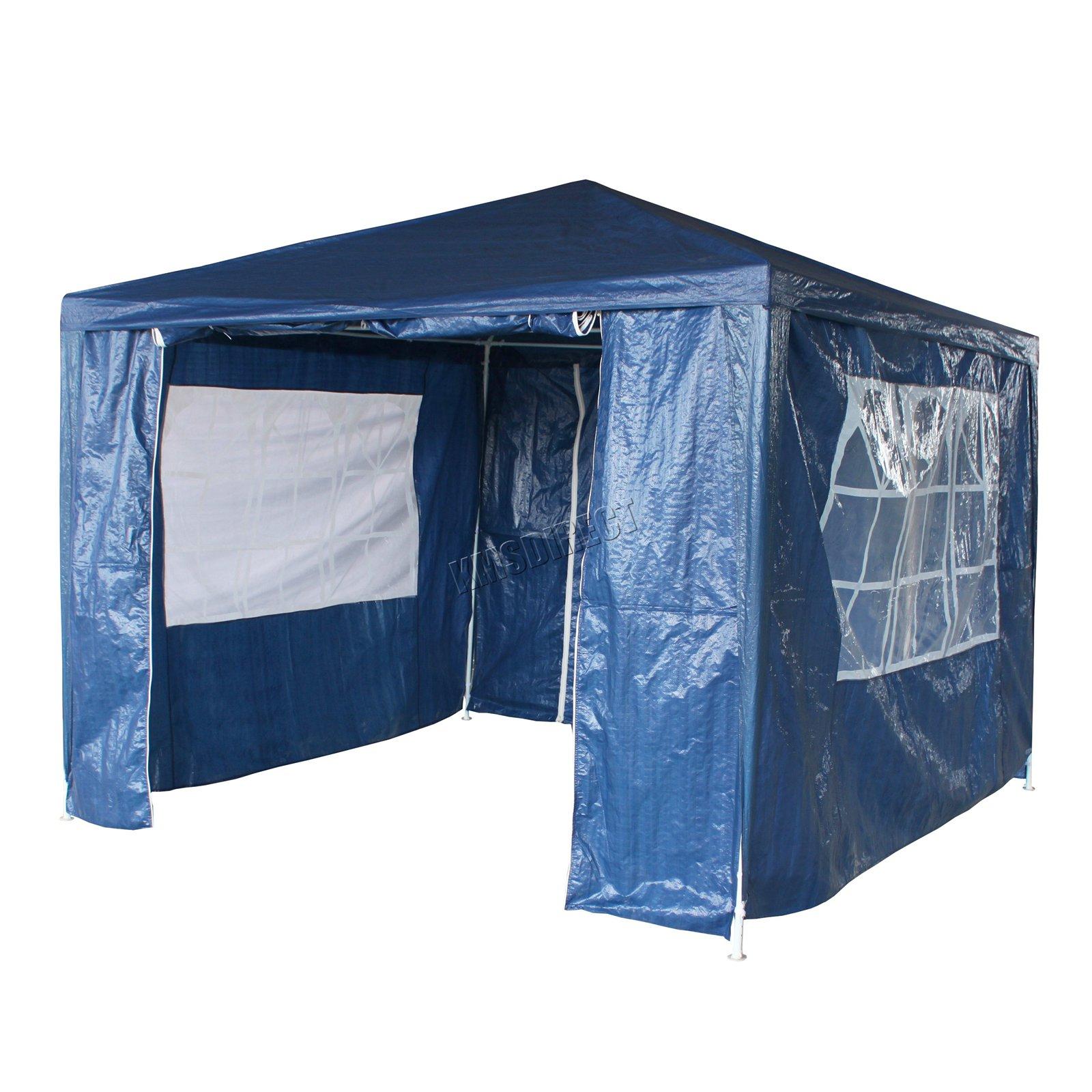 New-3-x-3m-120g-Waterproof-Outdoor-PE-Garden-Gazebo-Marquee-Canopy-Party-Tent Indexbild 15