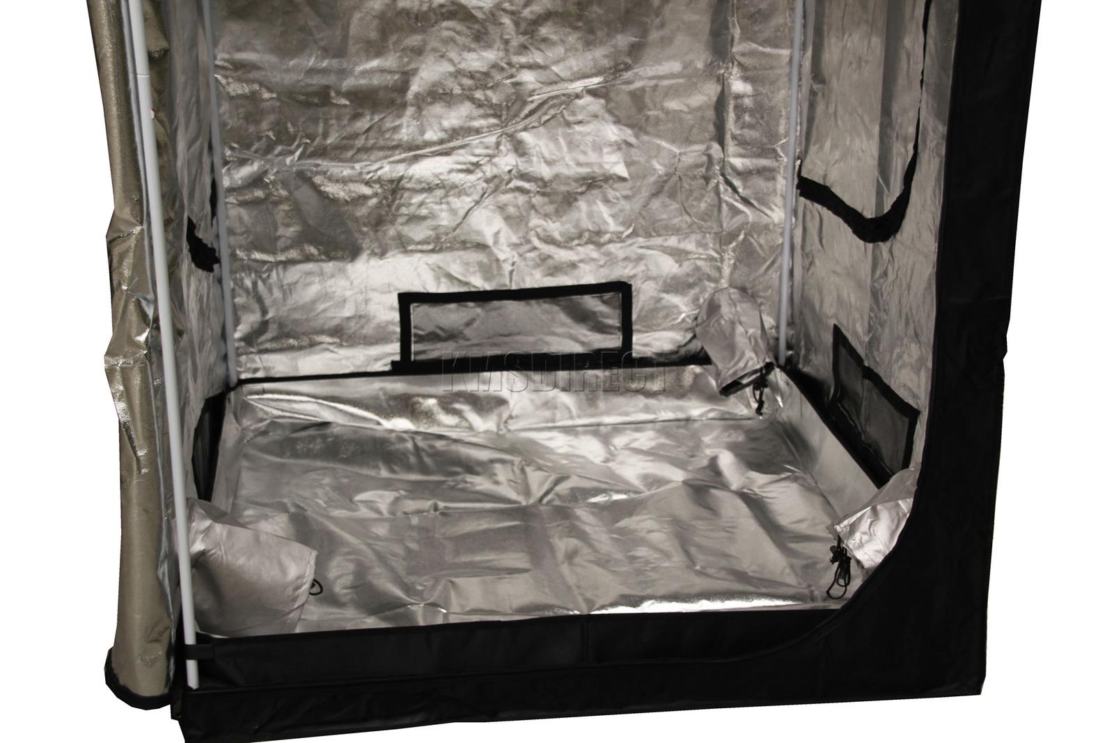 Indoor-Portable-Grow-Tent-Box-Silver-Mylar-Hydroponics-Bud-Green-Room-New-Design miniatuur 16