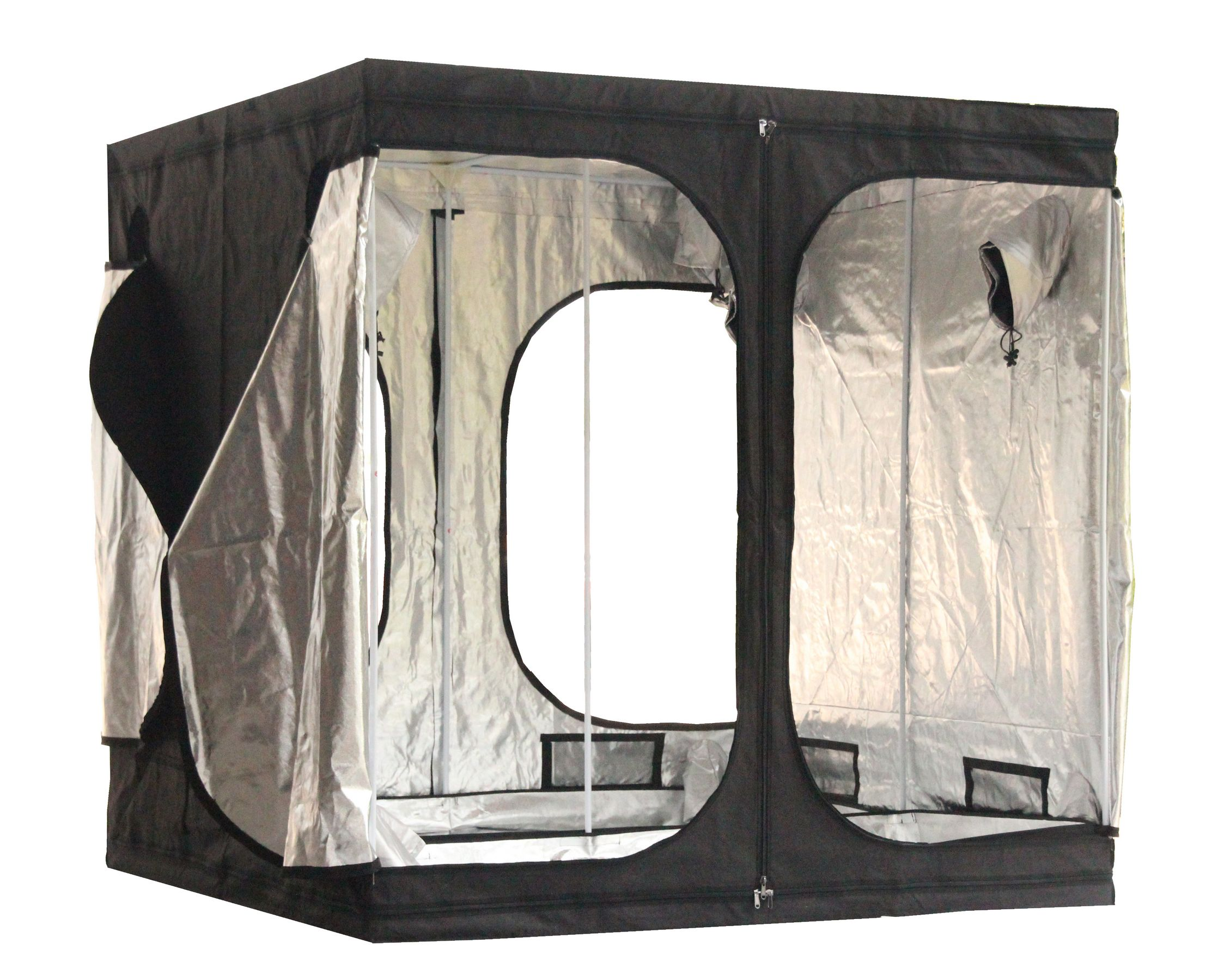Sentinel New Design 2 X 2 X 2m Portable Grow Tent Silver Mylar Hydroponic Dark Green Room  sc 1 st  eBay : extra large grow tents - memphite.com