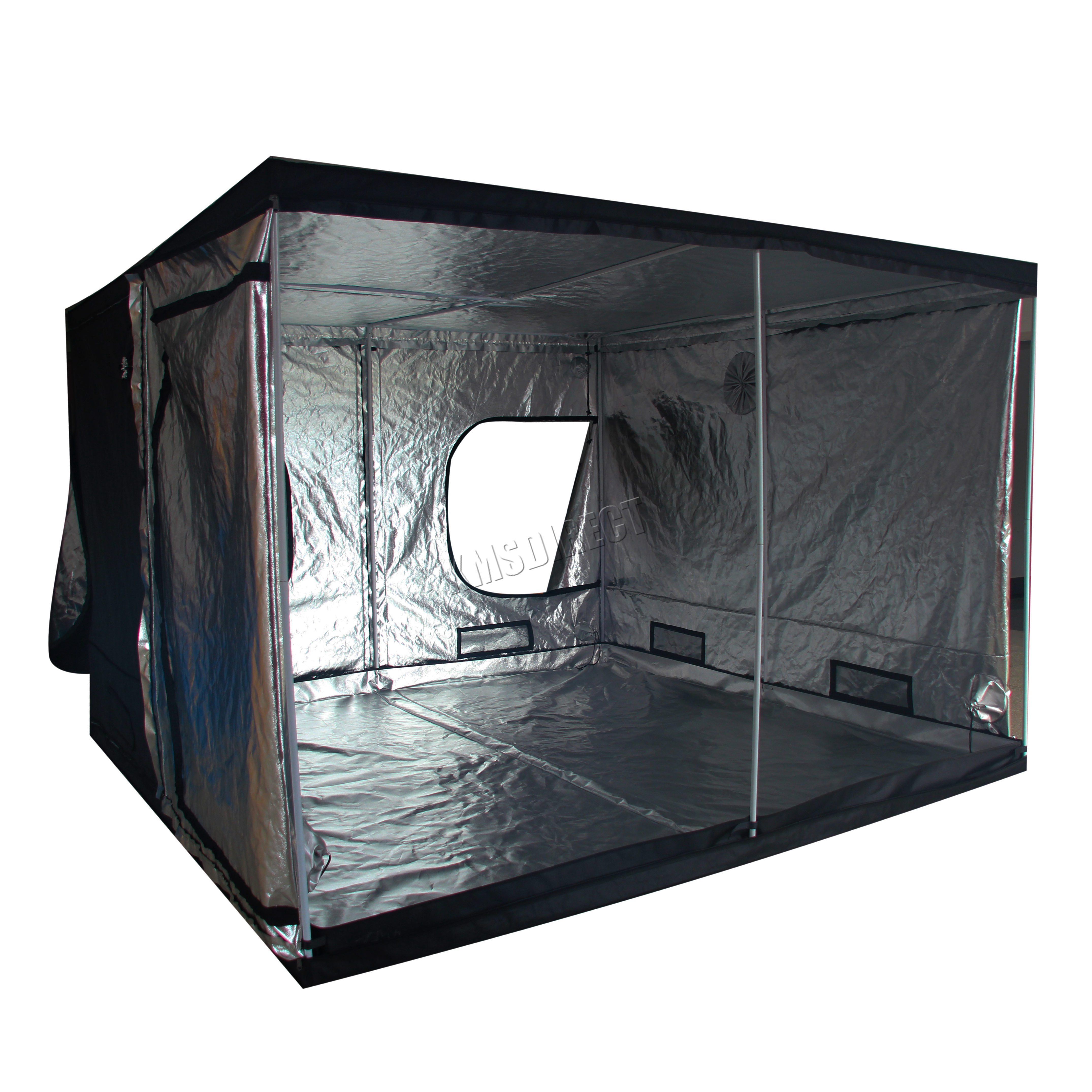 Sentinel Indoor Portable Grow Tent Box Silver Mylar Hydroponics Bud Green Room New Design  sc 1 st  eBay & Indoor Portable Grow Tent Box Silver Mylar Hydroponics Bud Green ...