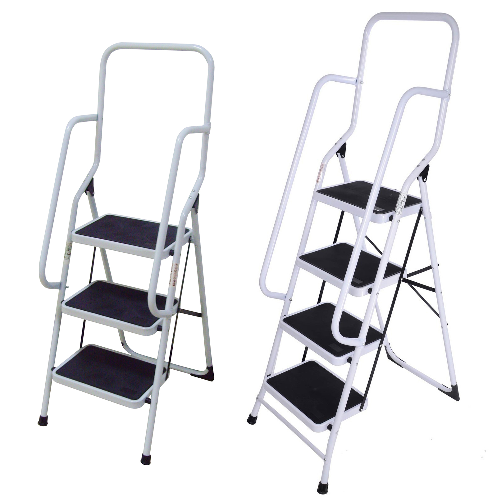 4 Step Ladder Stool Tyres2c