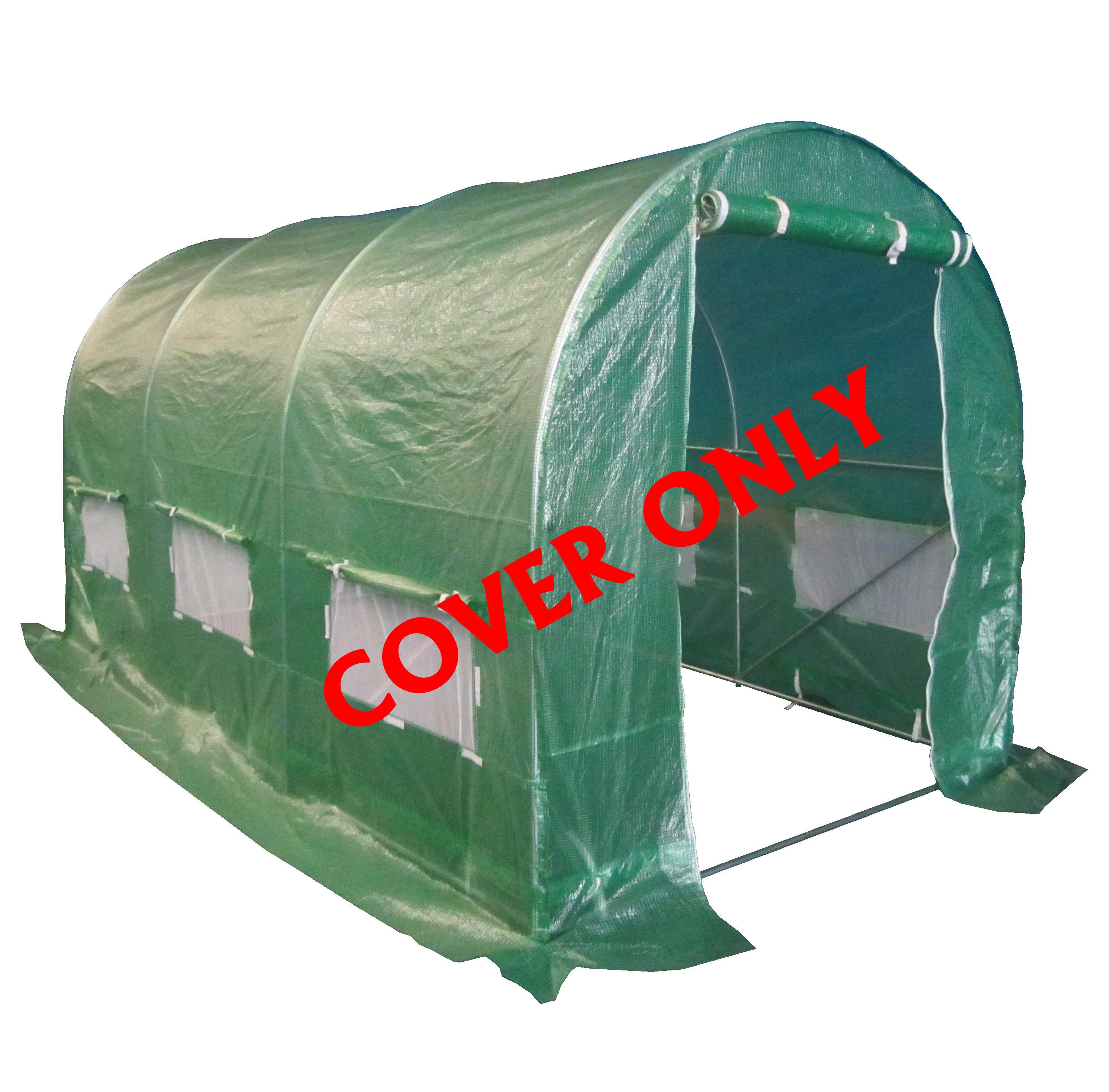 Foxhunter-Reemplazo-polytunnel-de-efecto-invernadero-pollytunnel-Poly-tunel-cubierta-solo
