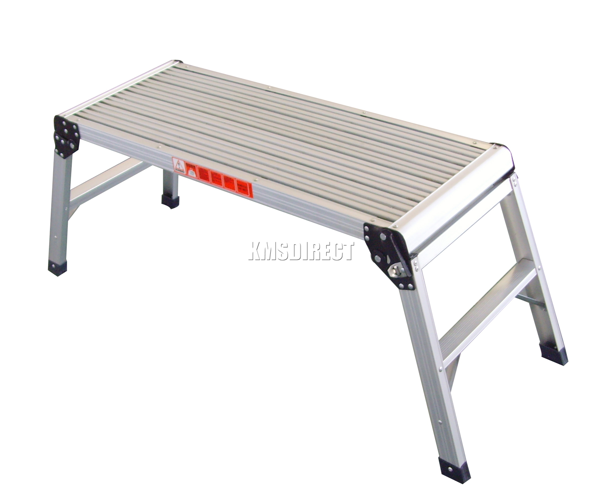 Foxhunter 150kg Folding Step Hop Up Aluminium Work