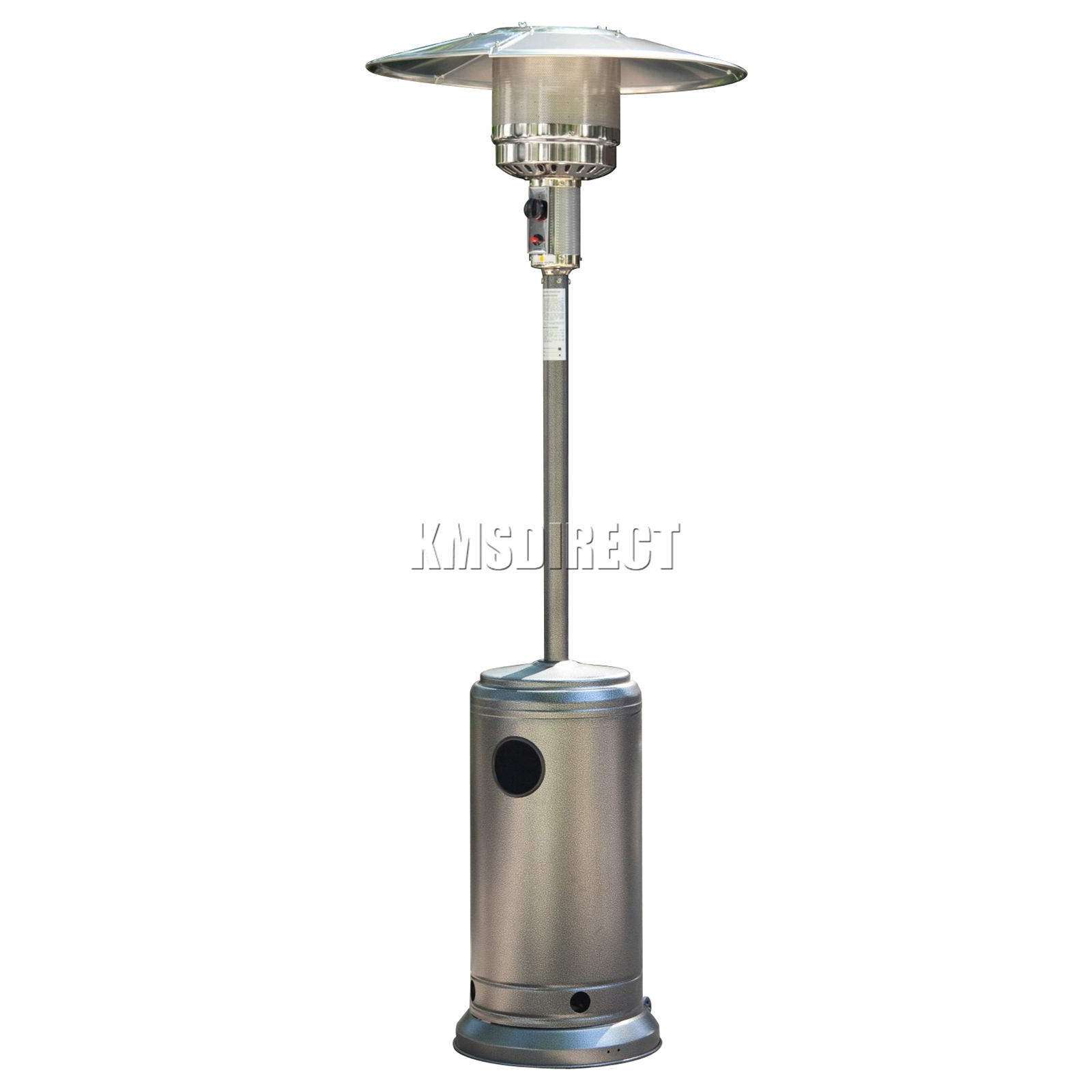 12000W Stainless Steel Outdoor Garden Fire BBQ Grill Gas Patio Heater Regulator