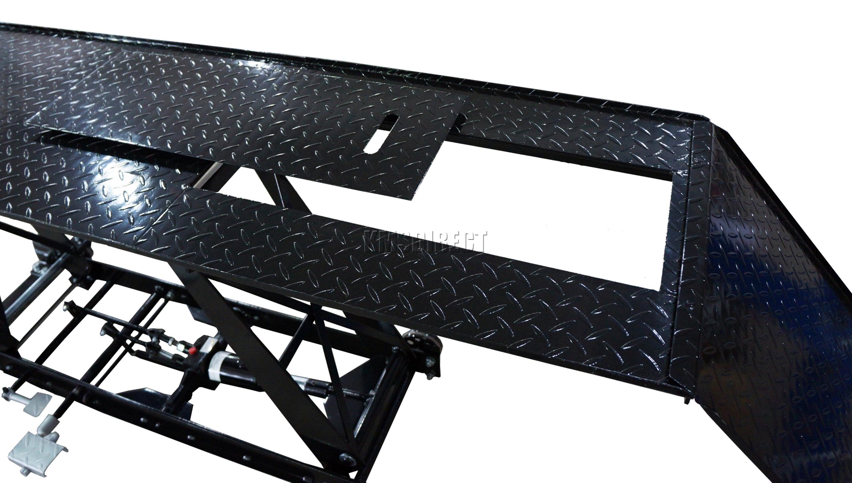 Sentinel Foxhunter 1000lb Hydraulic Bike Motorcycle Motorbike Lift Ramp Table Work M