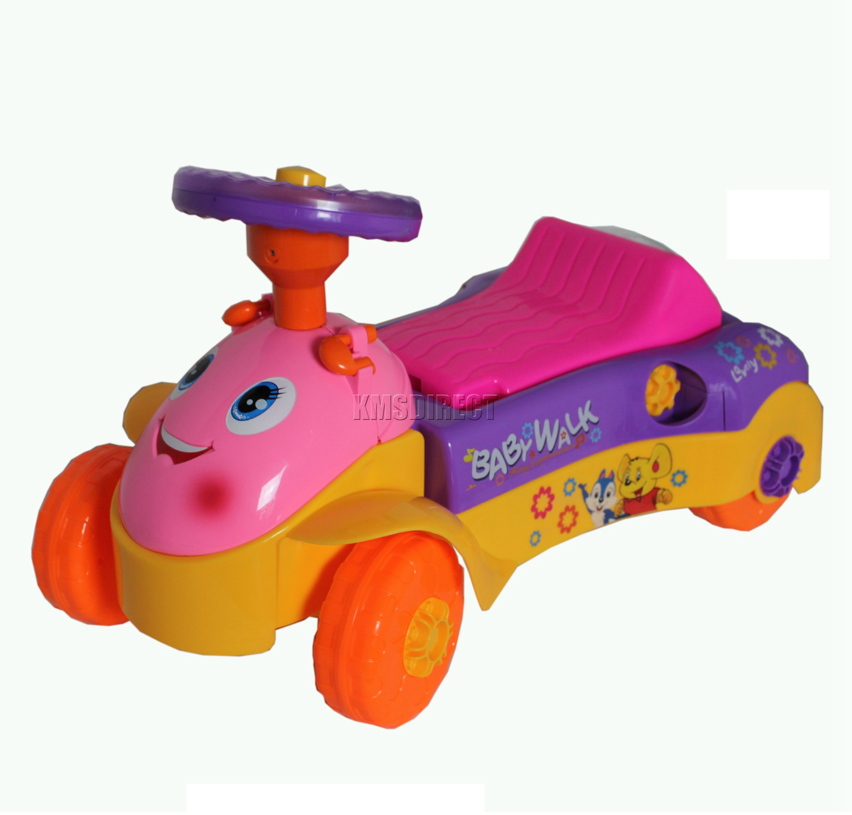 FoxHunter New Baby Toddler Walker Activity Ride Car Toy With