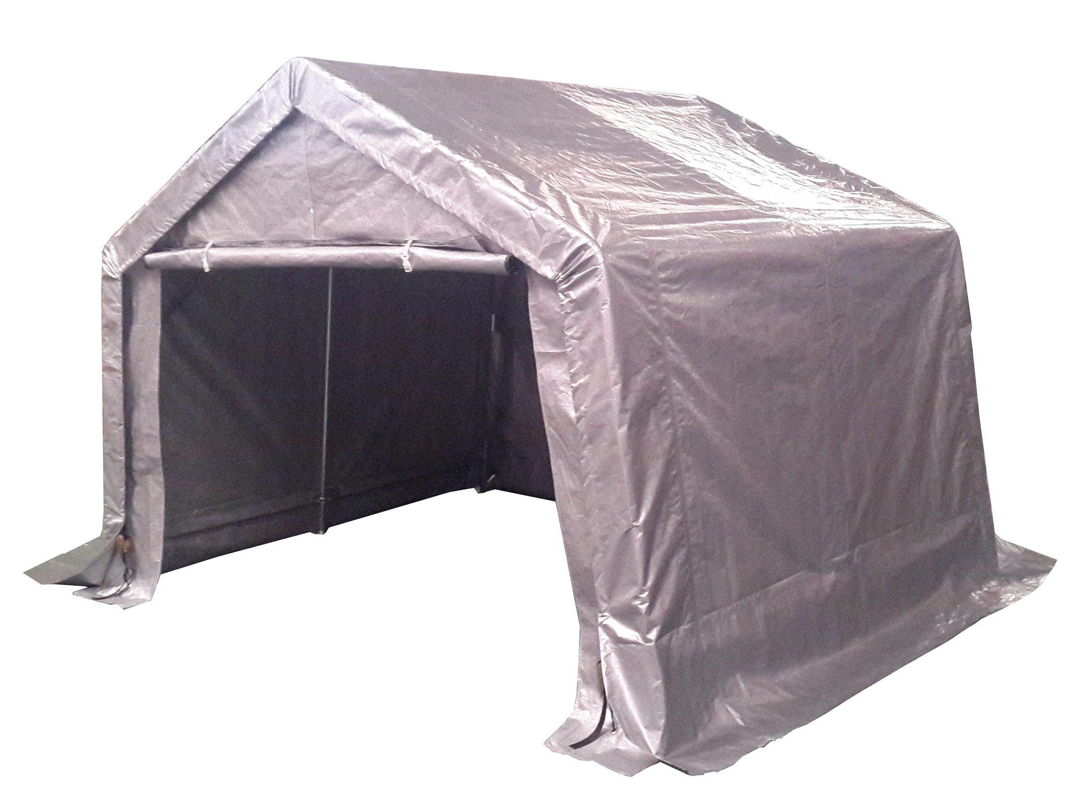 Sentinel FoxHunter Waterproof Motor Bike Cover Storage Shed Tent Garage Barn Galvanized  sc 1 st  eBay & FoxHunter Waterproof Motor Bike Cover Storage Shed Tent Garage ...