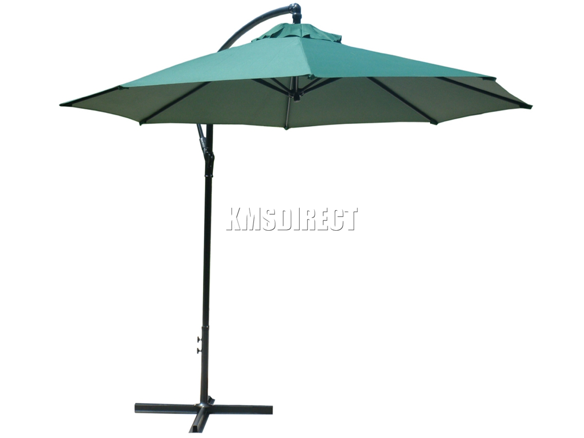 westwood 3m outdoor parasol sun shade patio banana. Black Bedroom Furniture Sets. Home Design Ideas