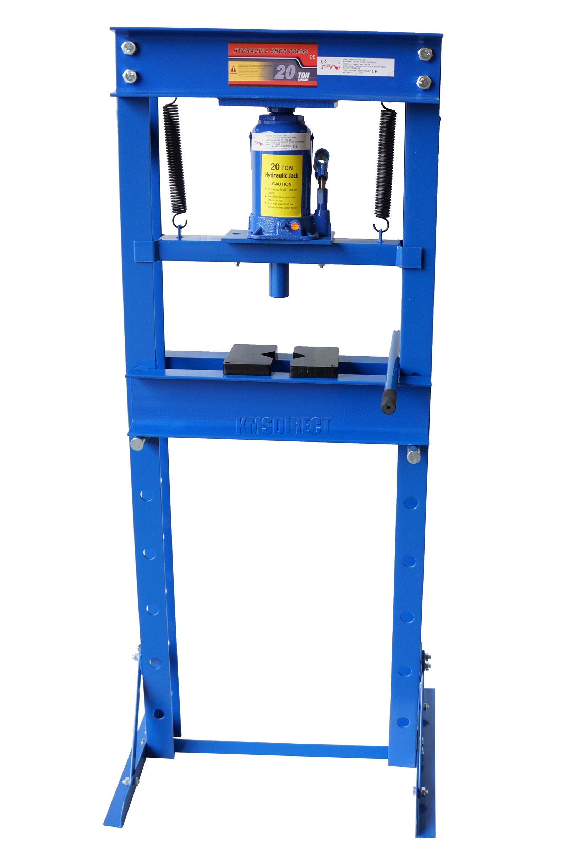Foxhunter Blue 20 Ton Tonne Hydraulic Workshop Garage Shop