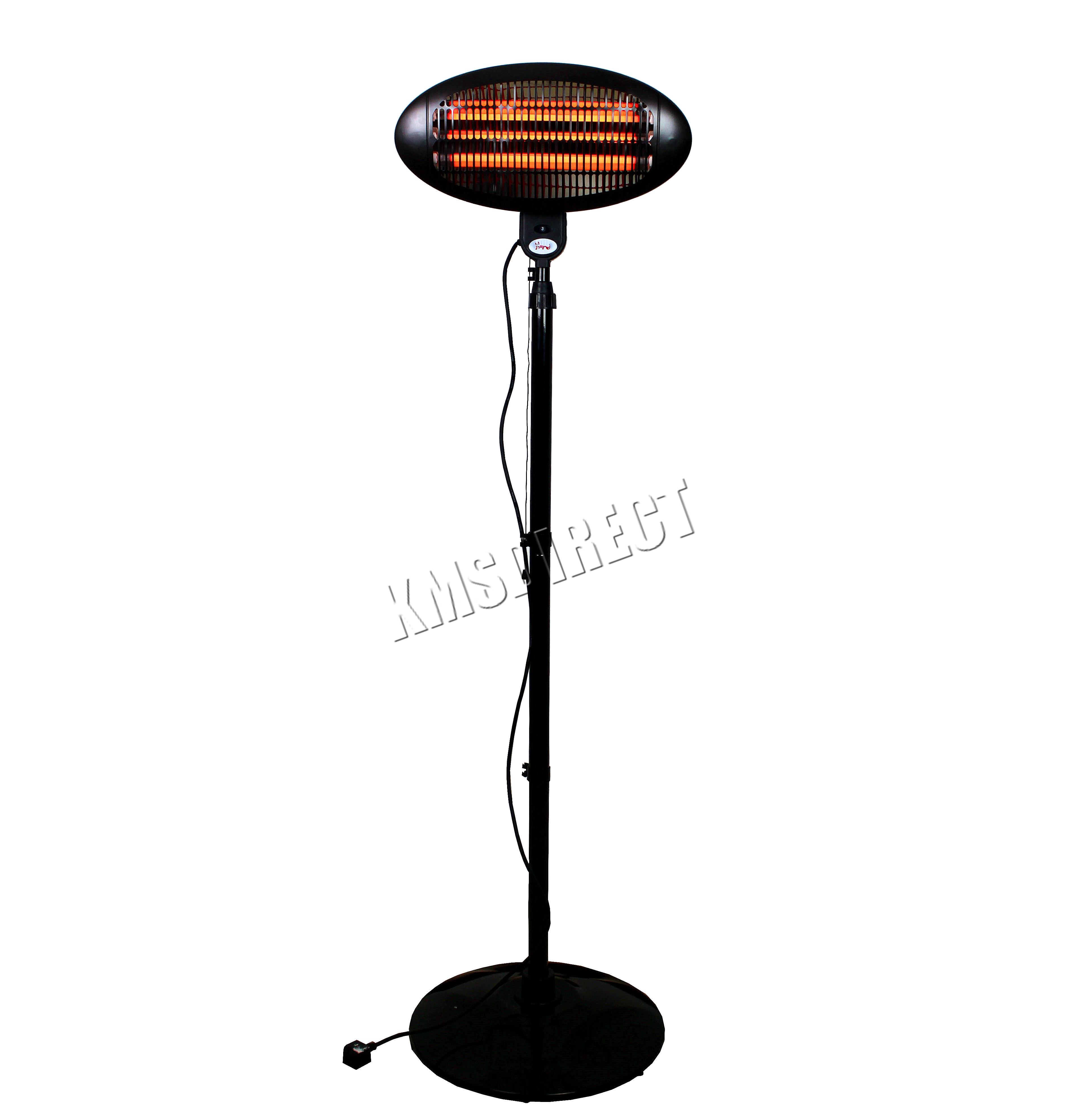 Foxhunter Garden Outdoor Quartz 2kw Electric Patio Heater