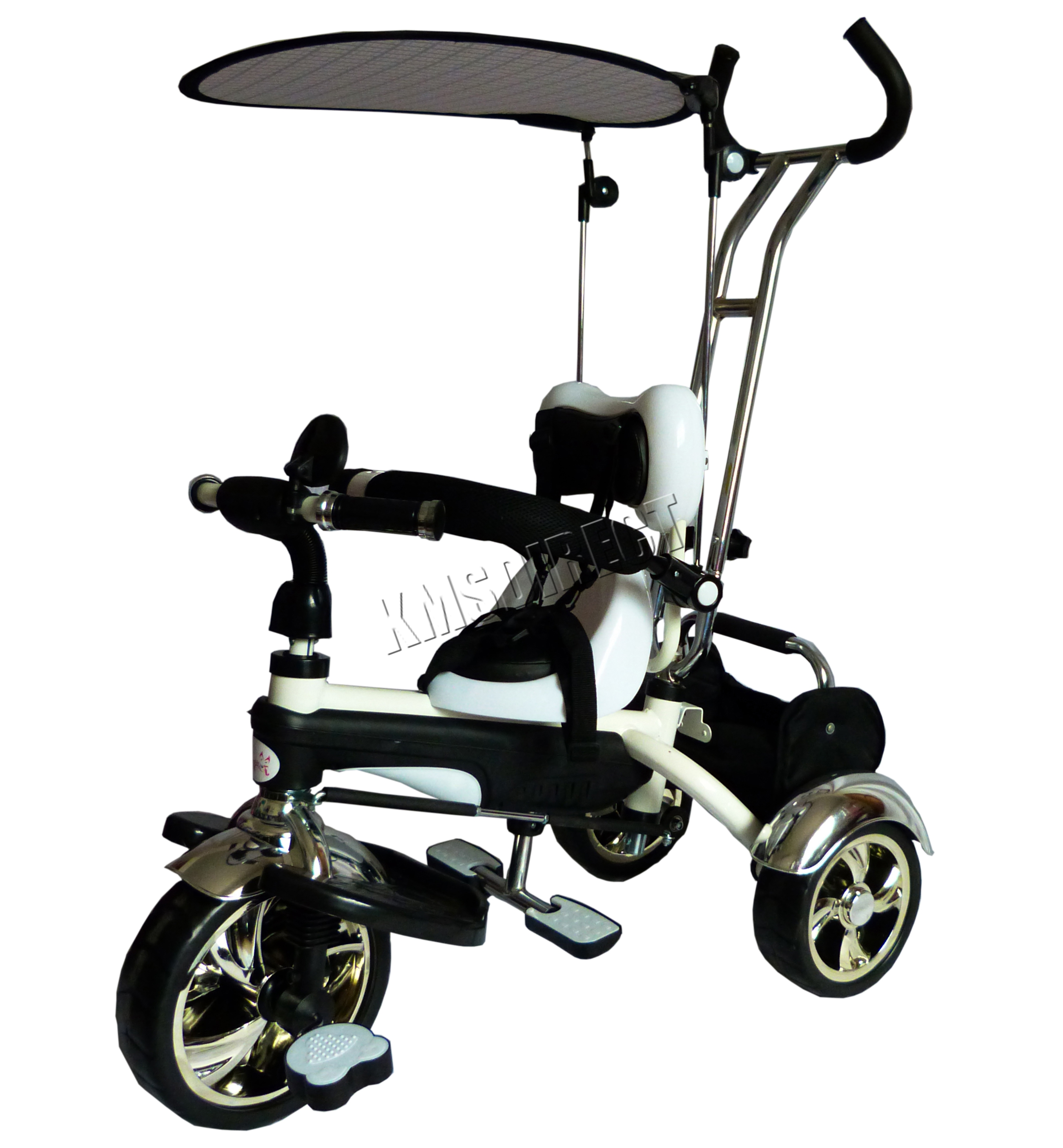 FoxHunter 4In1 Kids Children Trike Tricycle 3 Wheel Ride Bike ...