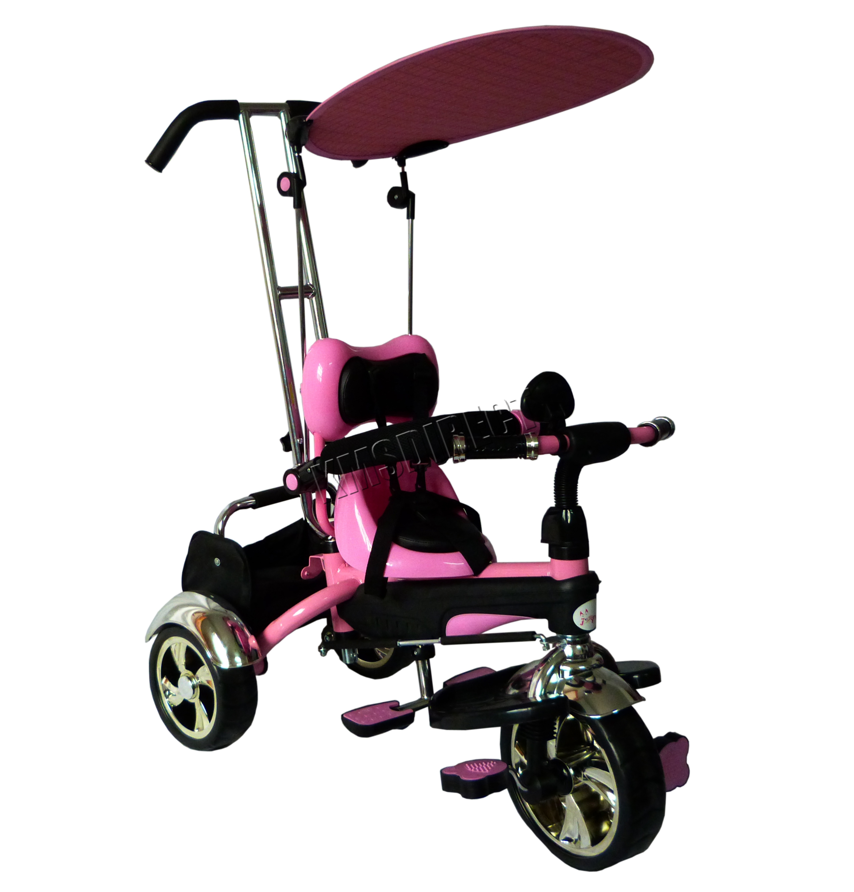 foxhunter 4in1 kids children trike tricycle 3 wheel ride. Black Bedroom Furniture Sets. Home Design Ideas