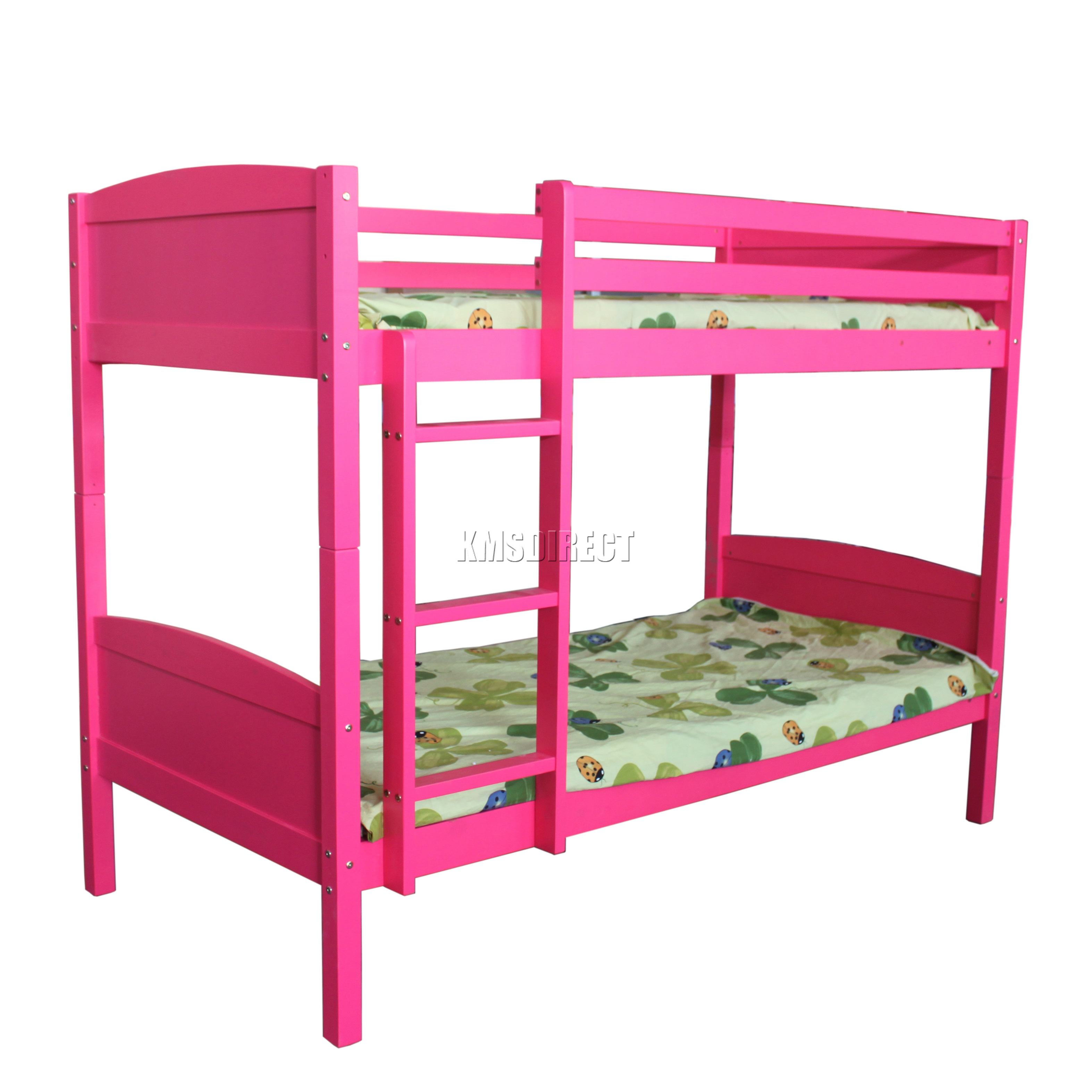 Westwood bunk bed 3ft wood wooden frame children sleeper for Bunk bed frame with mattress