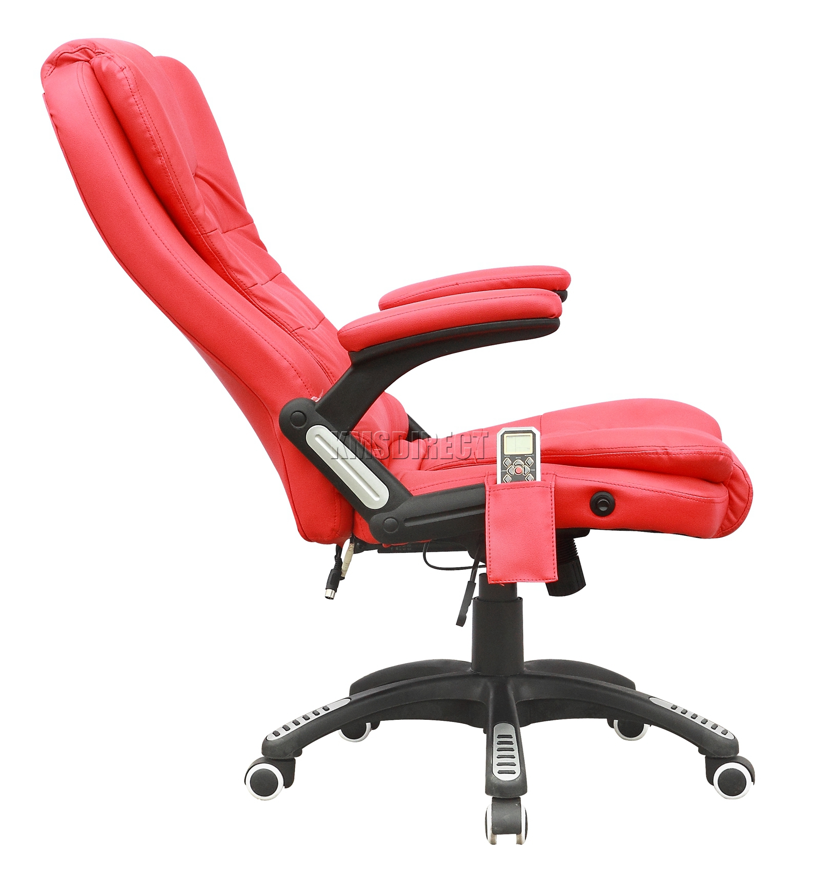 luxury office chairs leather. Sentinel FoxHunter 8025 Leather 6 Point Massage Office Computer Chair Reclining Swivel Luxury Chairs S