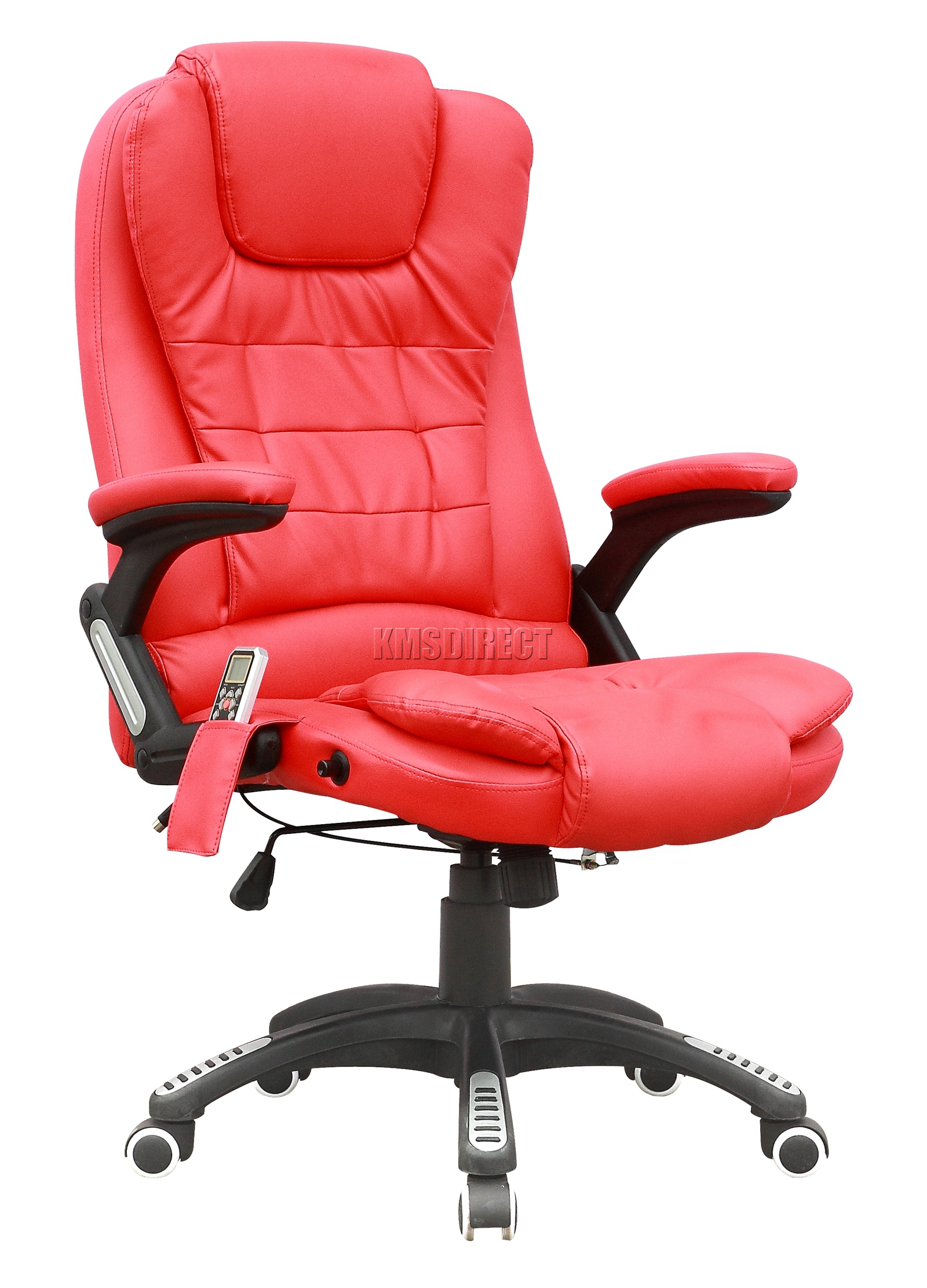 leather swivel office chair. Sentinel FoxHunter 6 Point Massage Office Computer Chair Luxury Leather Swivel Reclining T