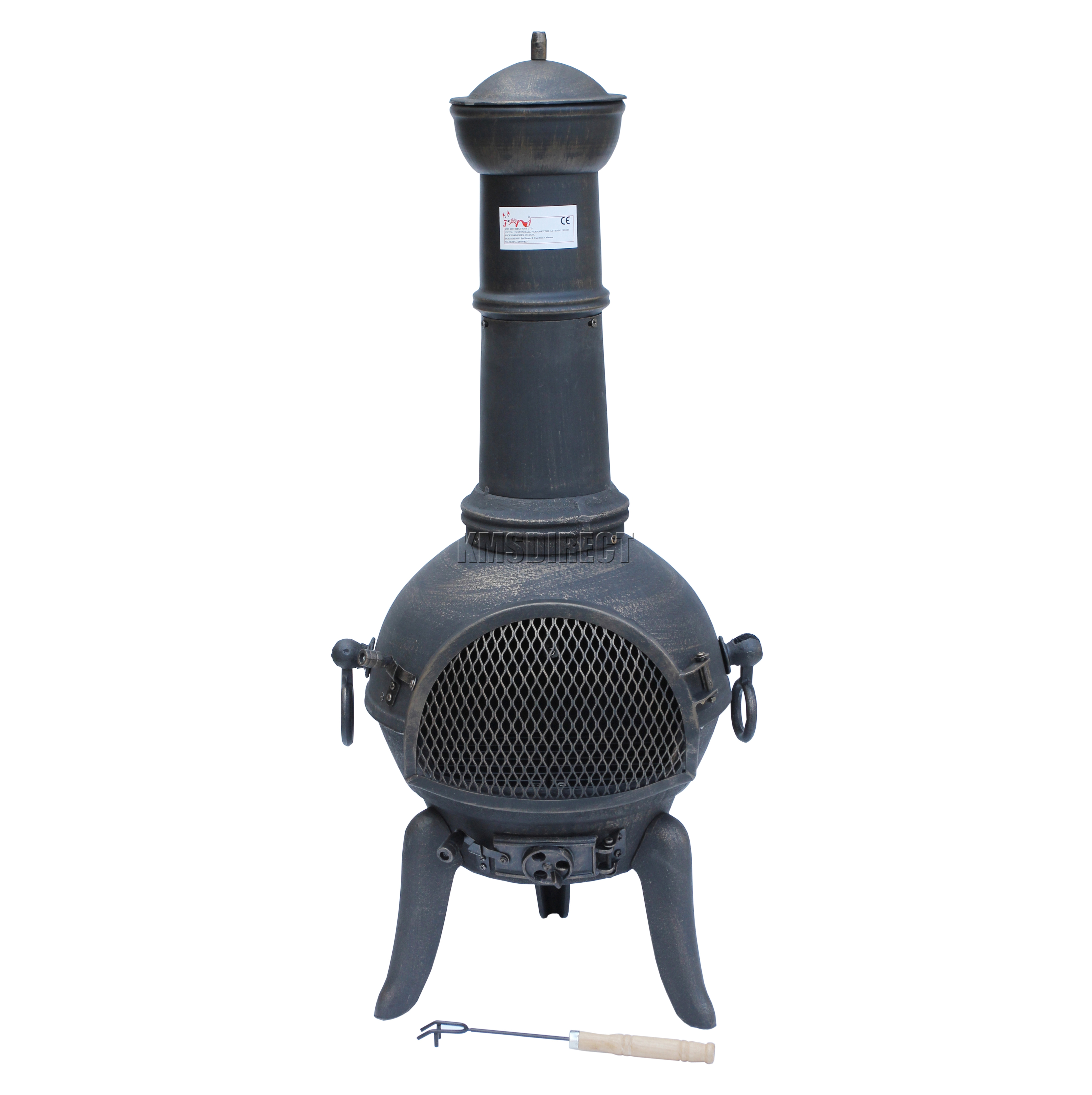 chiminea with bbq grill patio heater wood burner patio designs