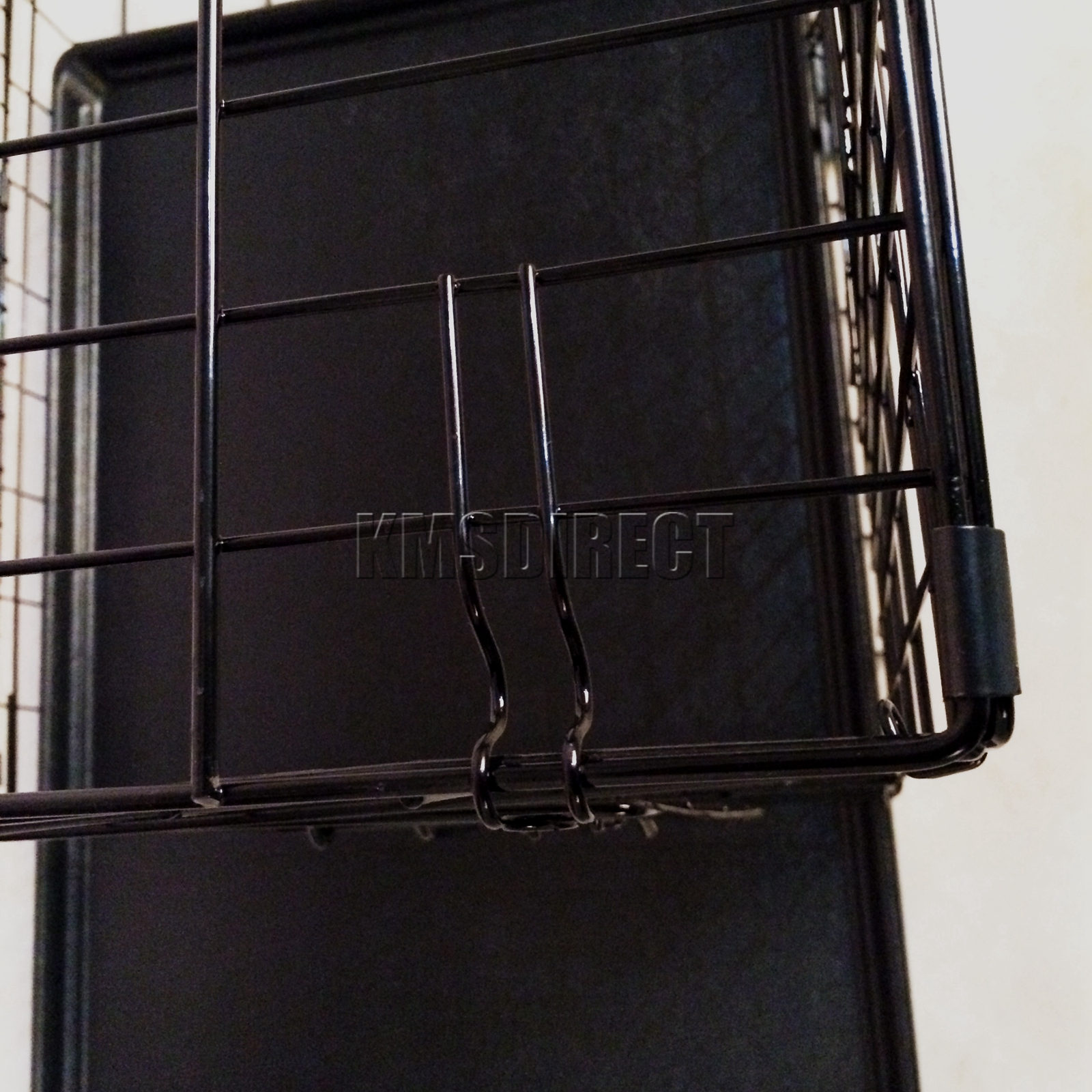 Foxhunter Pet Cage Strong Metal Travel Crate For Dog Cat