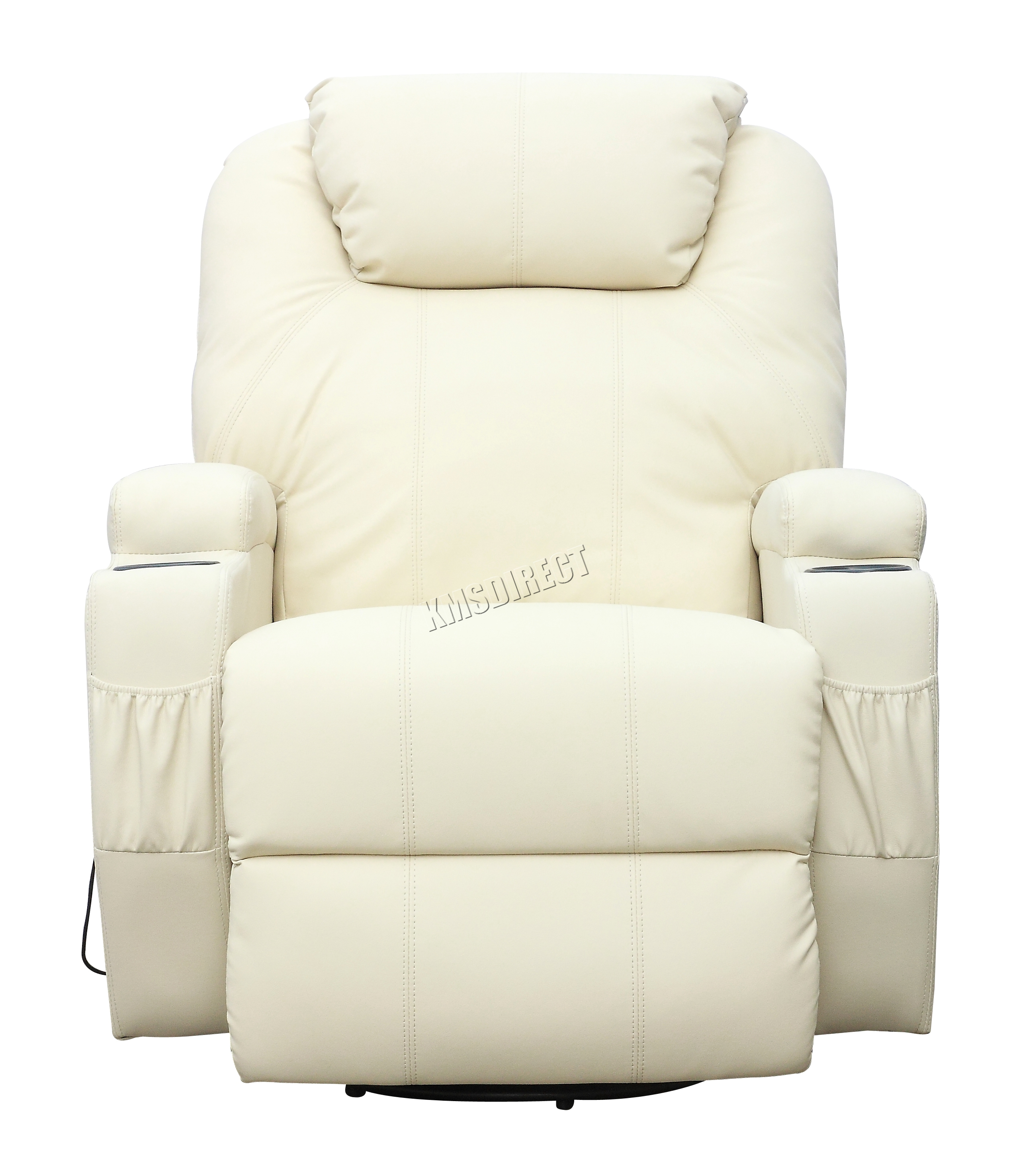 FoxHunter-Bonded-Leather-Massage-Recliner-Chair-Cinema-Sofa-  sc 1 st  eBay & FoxHunter Bonded Leather Massage Recliner Chair Cinema Sofa ... islam-shia.org