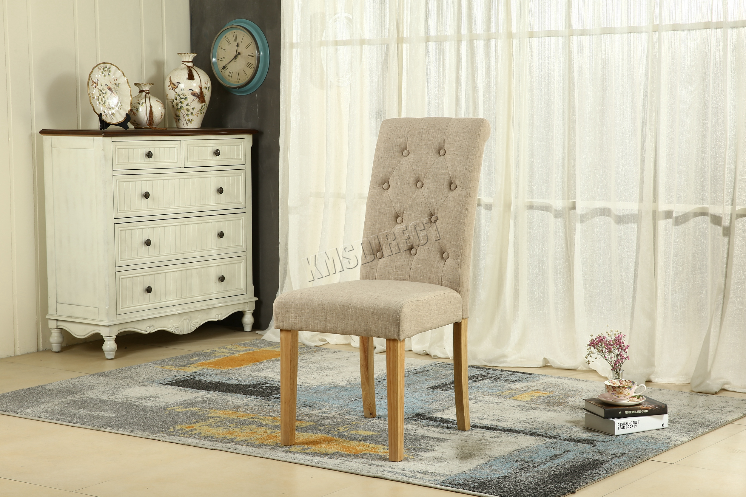 100 [ Material Dining Chairs ]