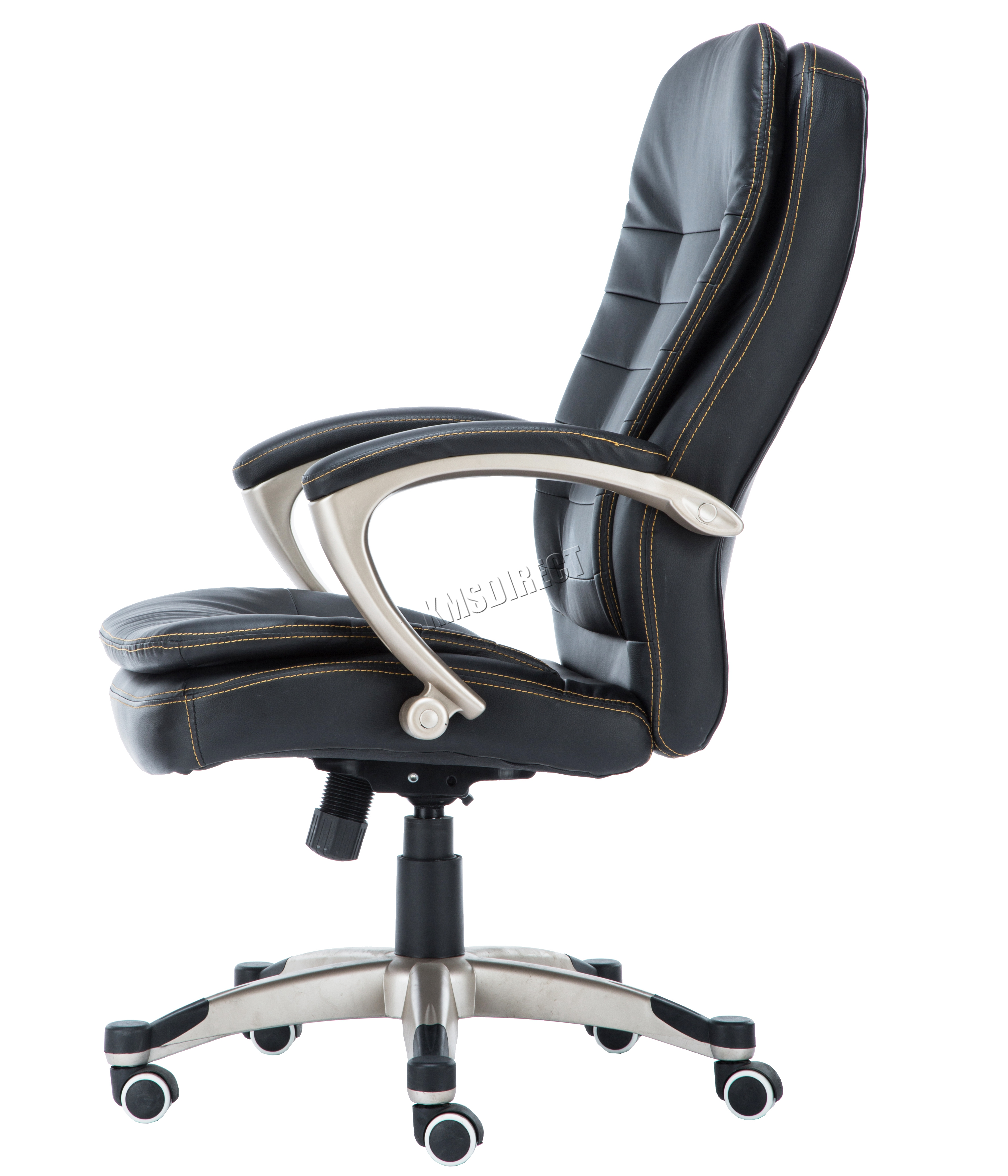 FoxHunter puter Executive fice Chair PU Leather Swivel High