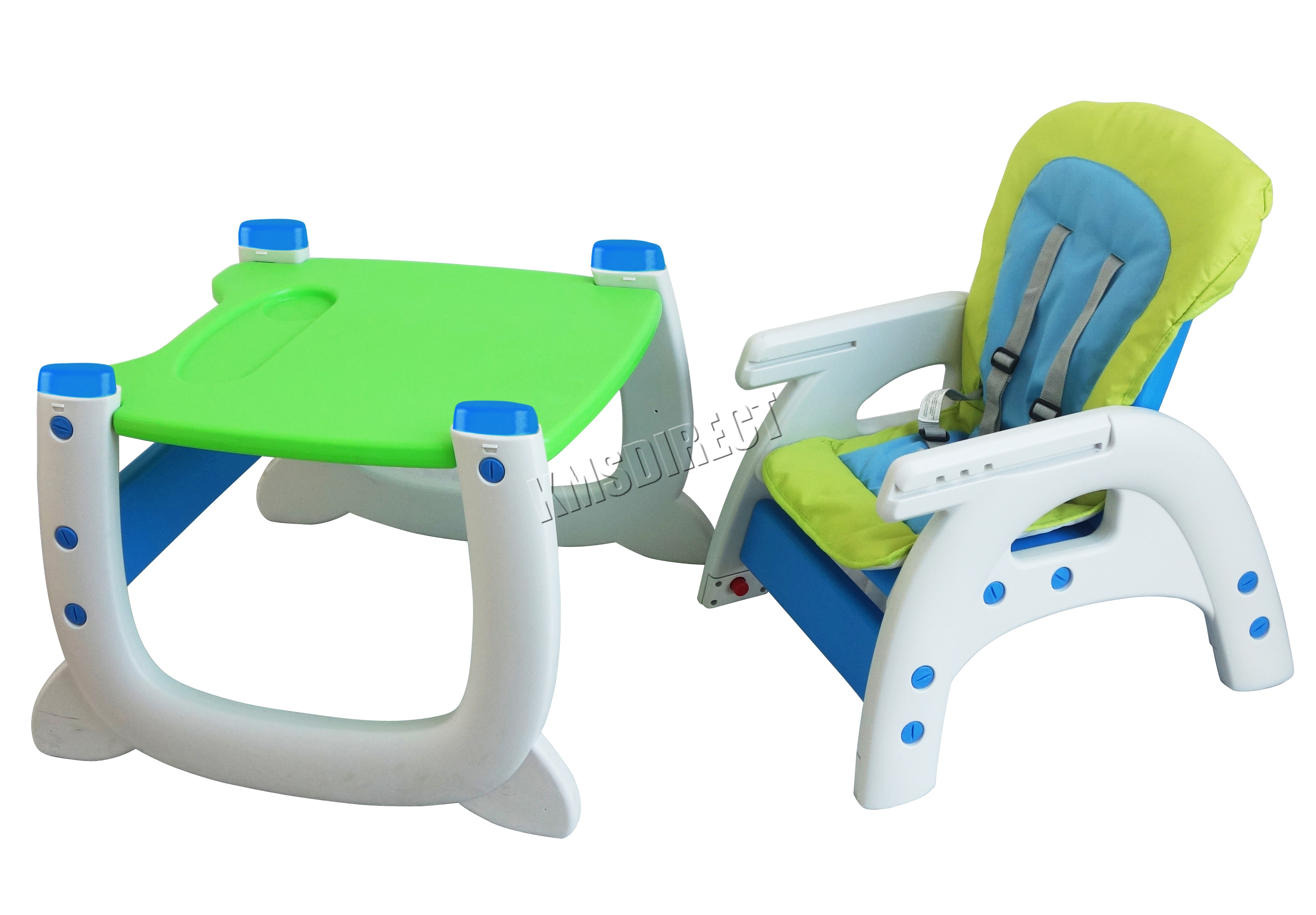 FoxHunter Baby Highchair Infant High Feeding Seat 3in1 Toddler