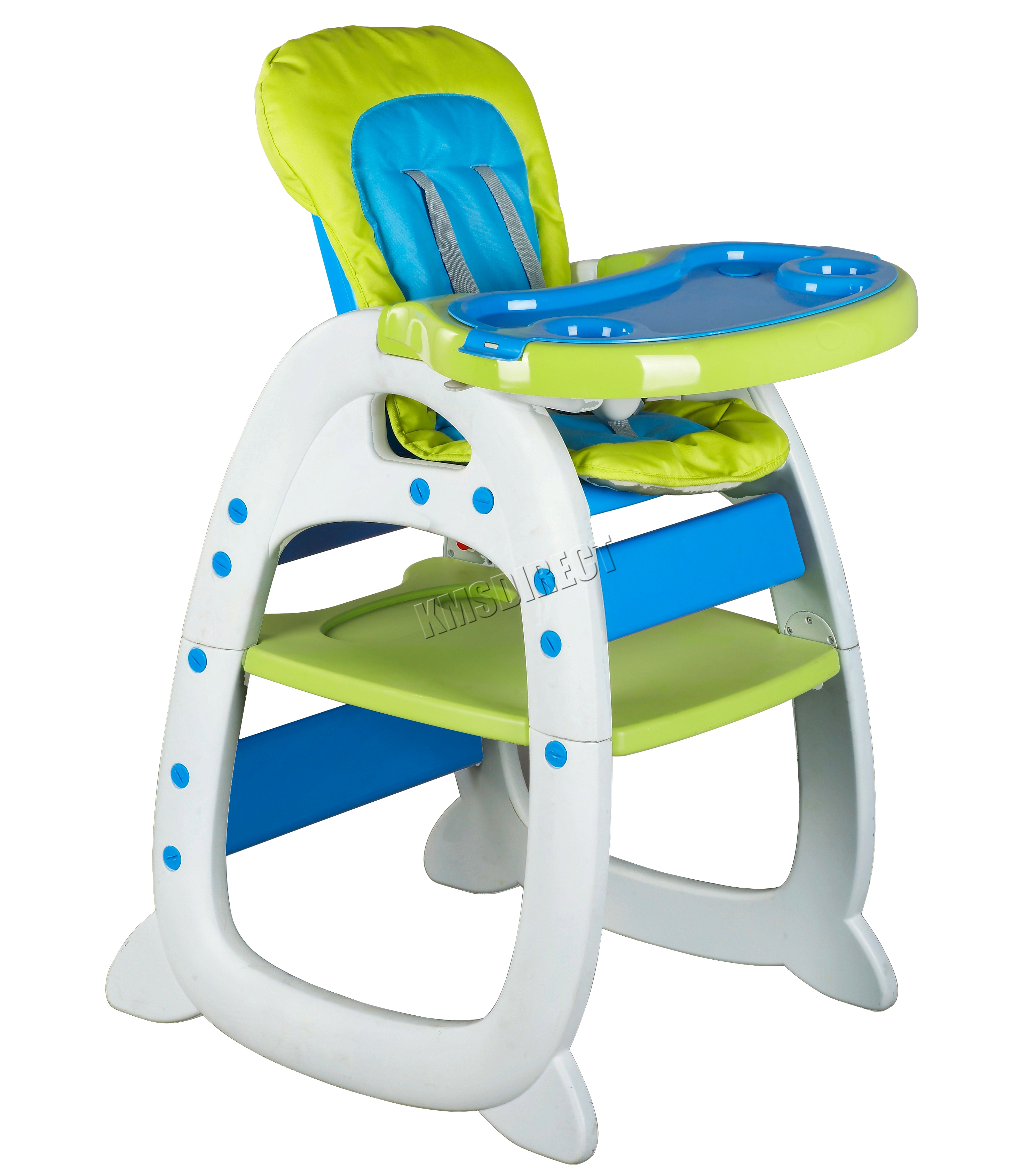 foxhunter baby highchair infant high feeding seat 3in1 compact