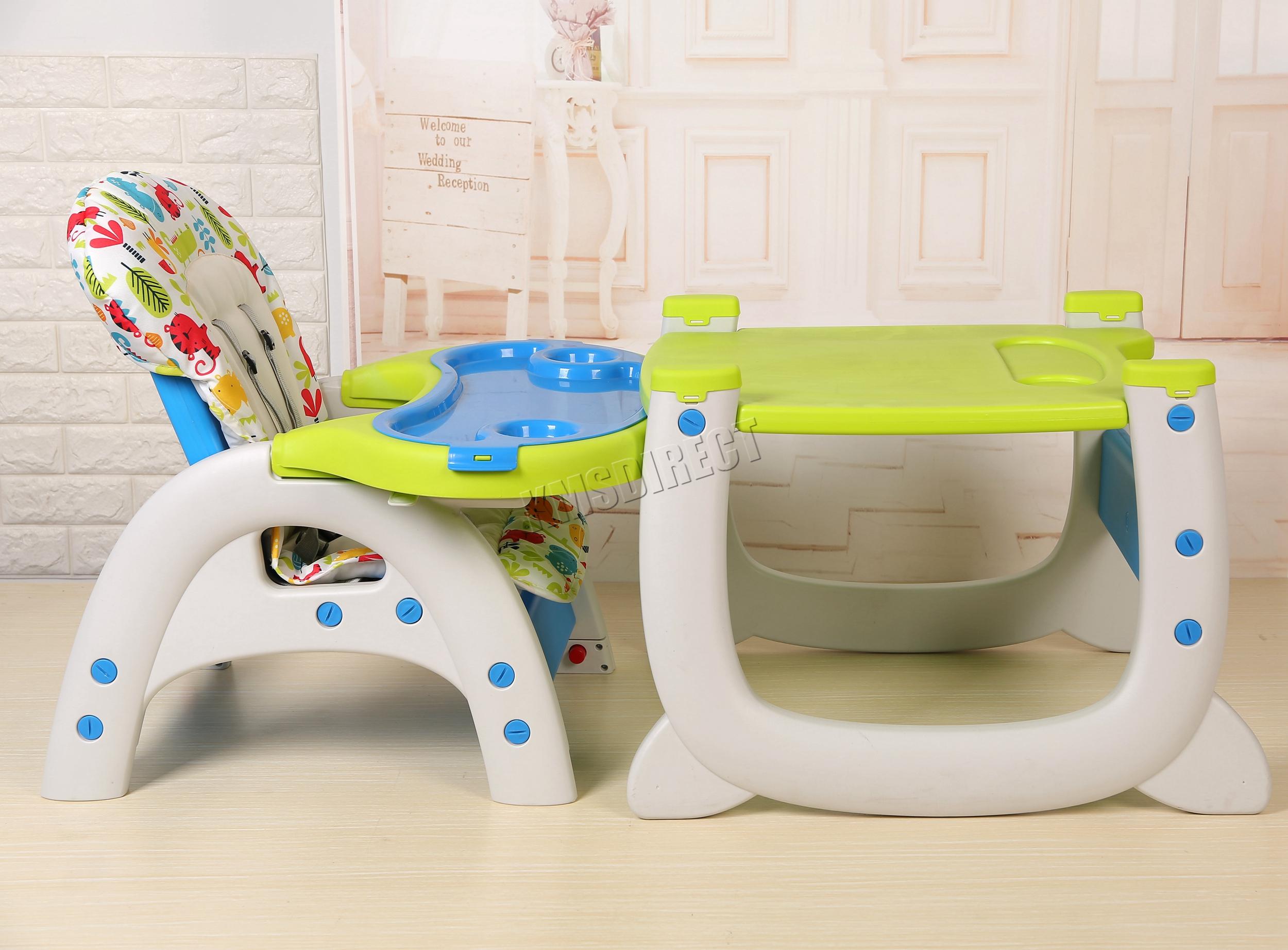 Foxhunter Baby Highchair Infant High Feeding Seat 3in1