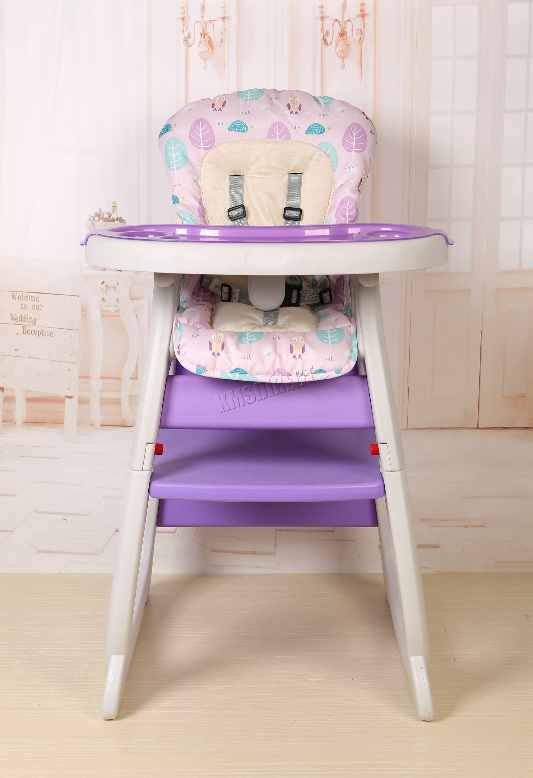 FoxHunter Baby Highchair Infant High Feeding Seat 3in1 Toddler Table ...