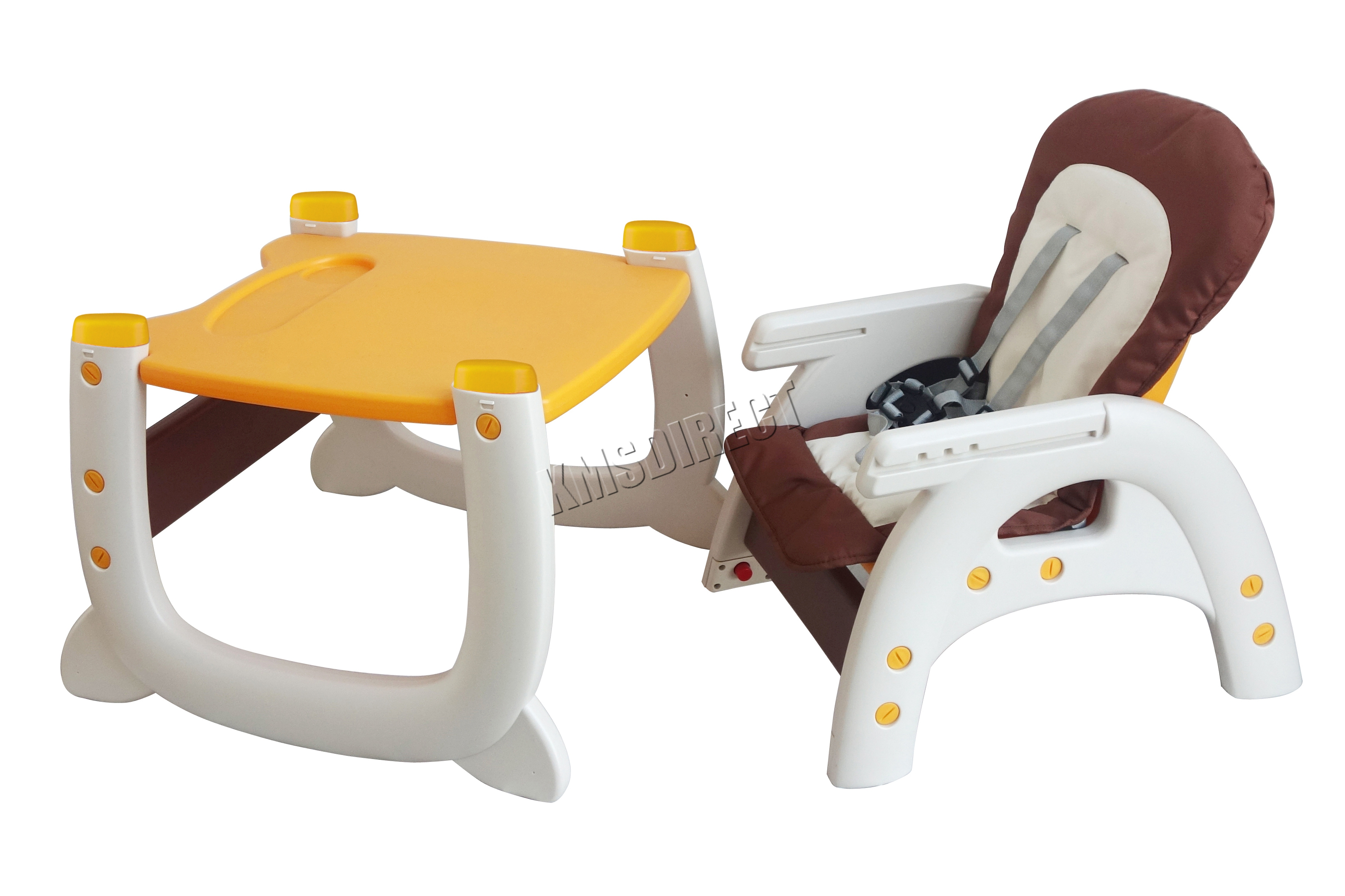 Baby Highchair Infant High Feeding Seat 3in1 Toddler Table Chair New