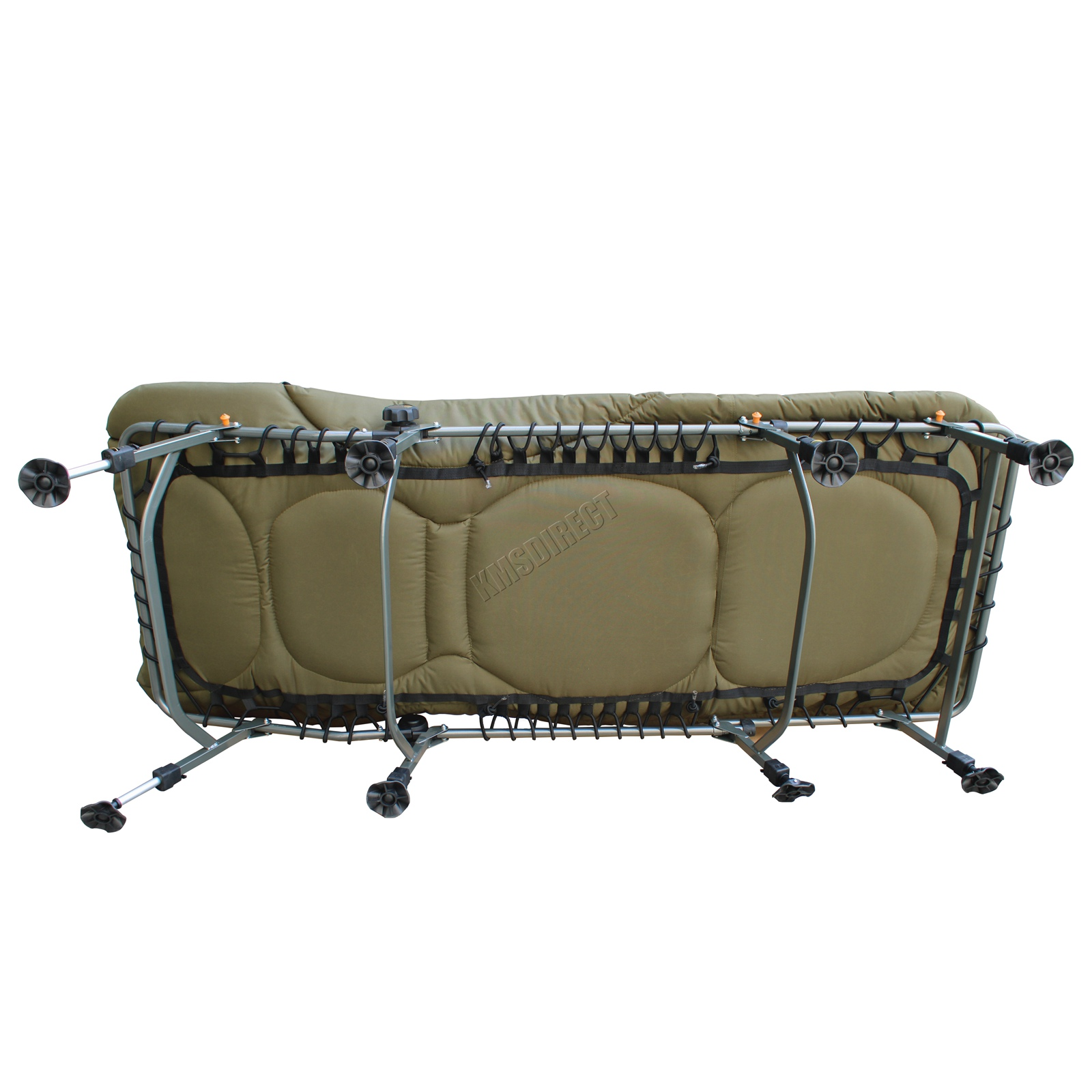 carp fishing bed chair bedchair camping heavy duty 8 adjustable