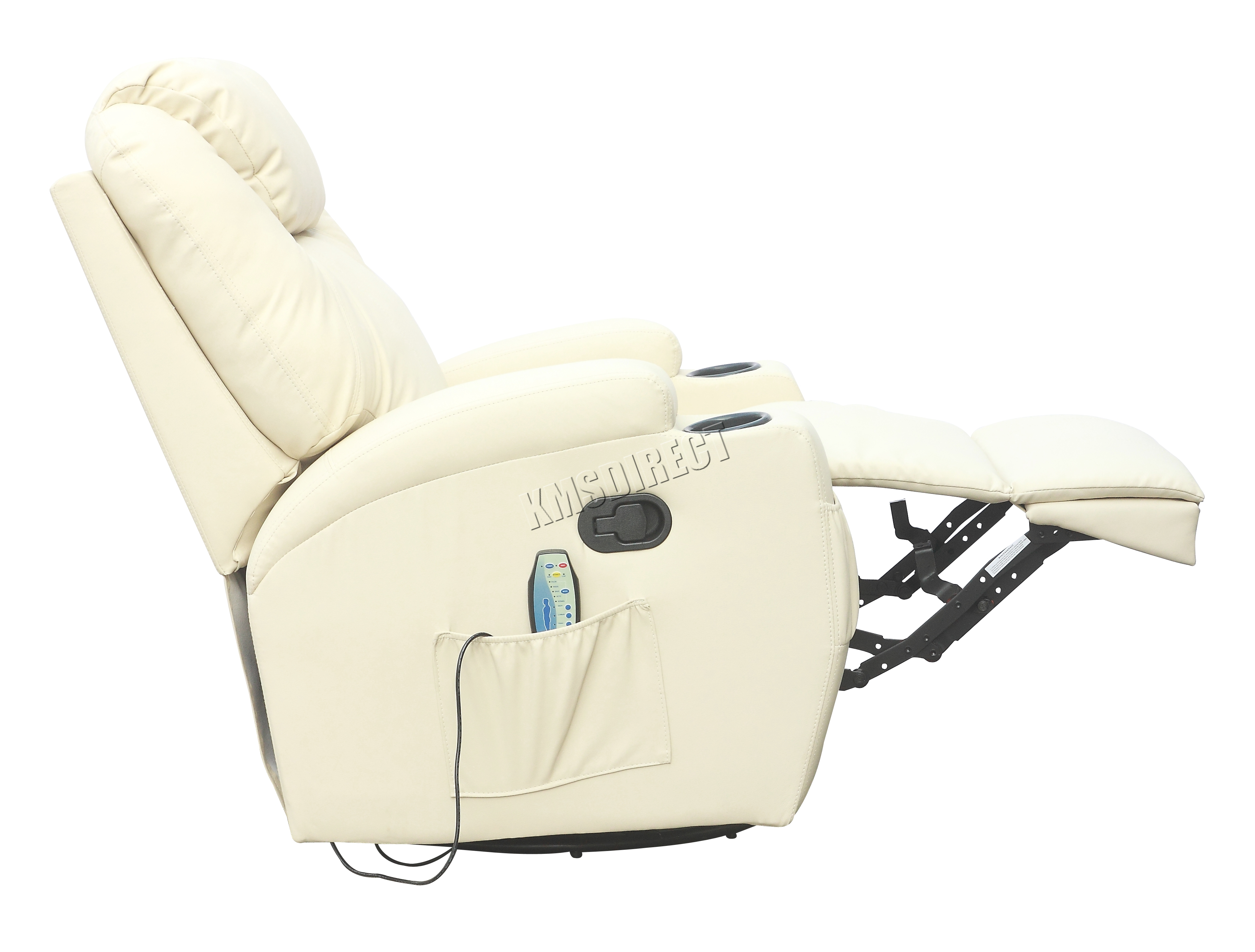 Westwood Bonded Leather Mage Recliner Chair Cinema Sofa