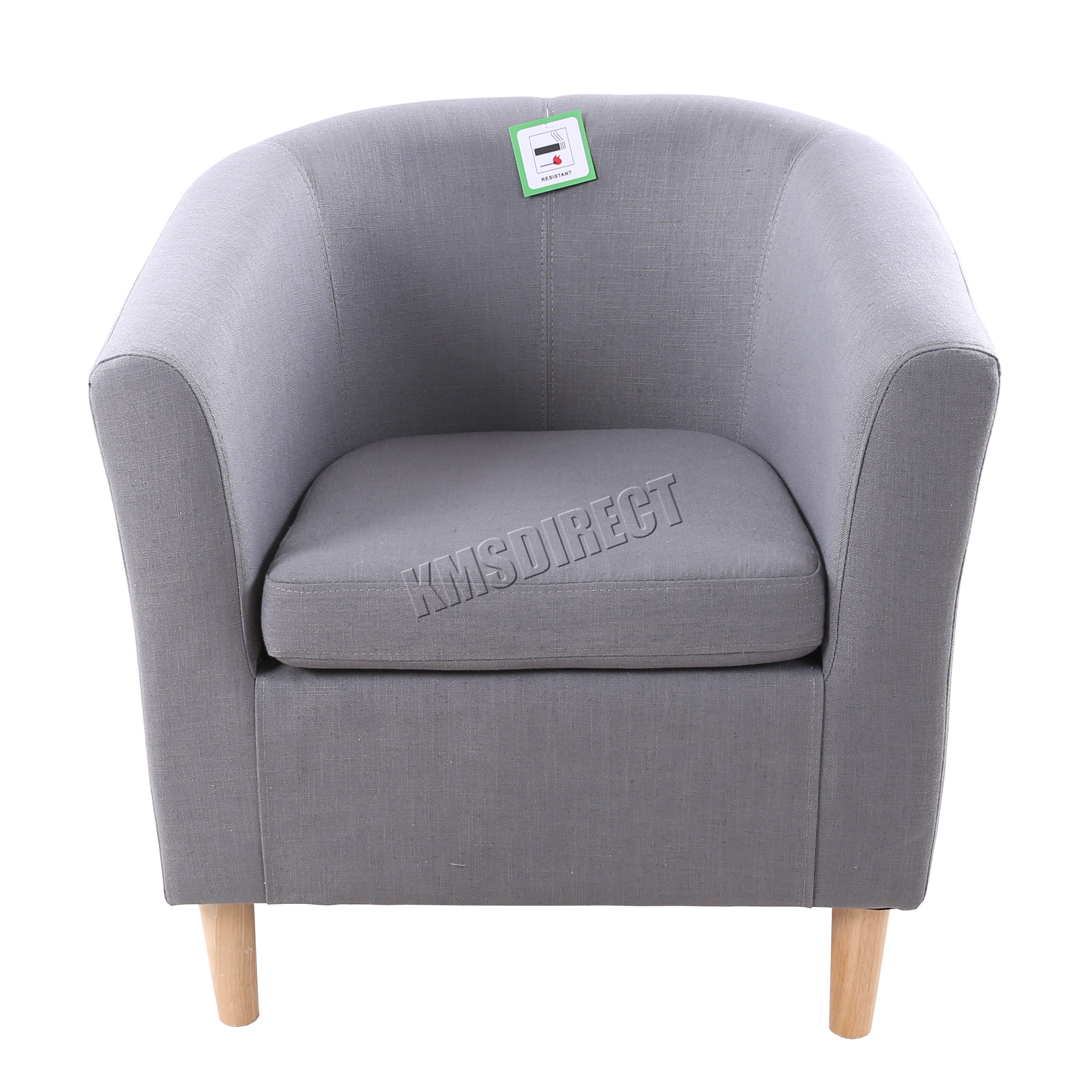 office bucket chair. Sentinel FoxHunter Linen Fabric Tub Chair Armchair Dining Living Room Lounge Office TC03 Bucket