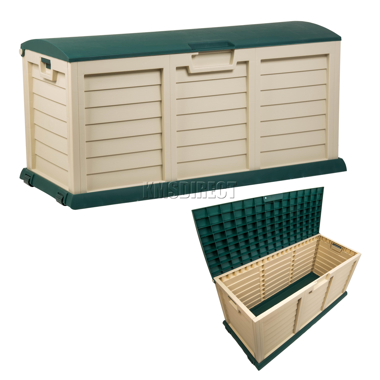 Starplast Outdoor Garden Plastic Storage Chest Cushion Shed Box