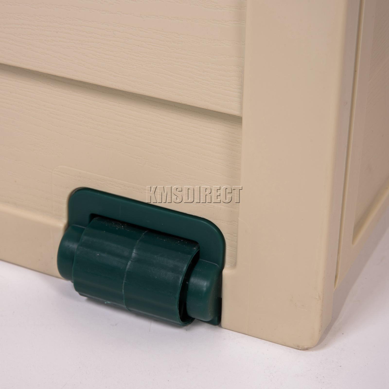Coffre À Coussin Extérieur détails sur starplast extérieur jardin rangement plastique utility coffre  coussin Étable box