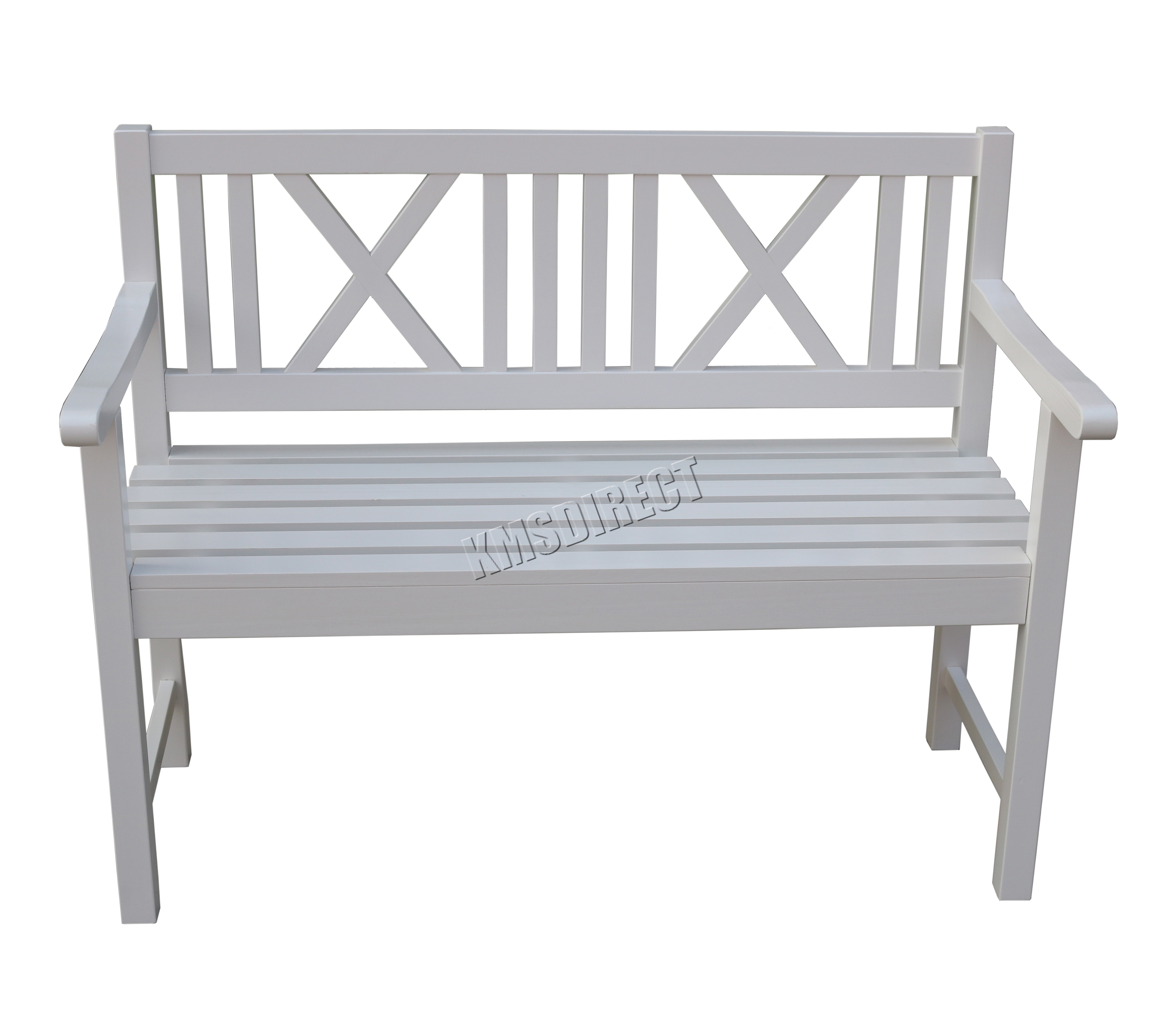 productdisplay white rose uniacke bench painted garden regency iron wrought