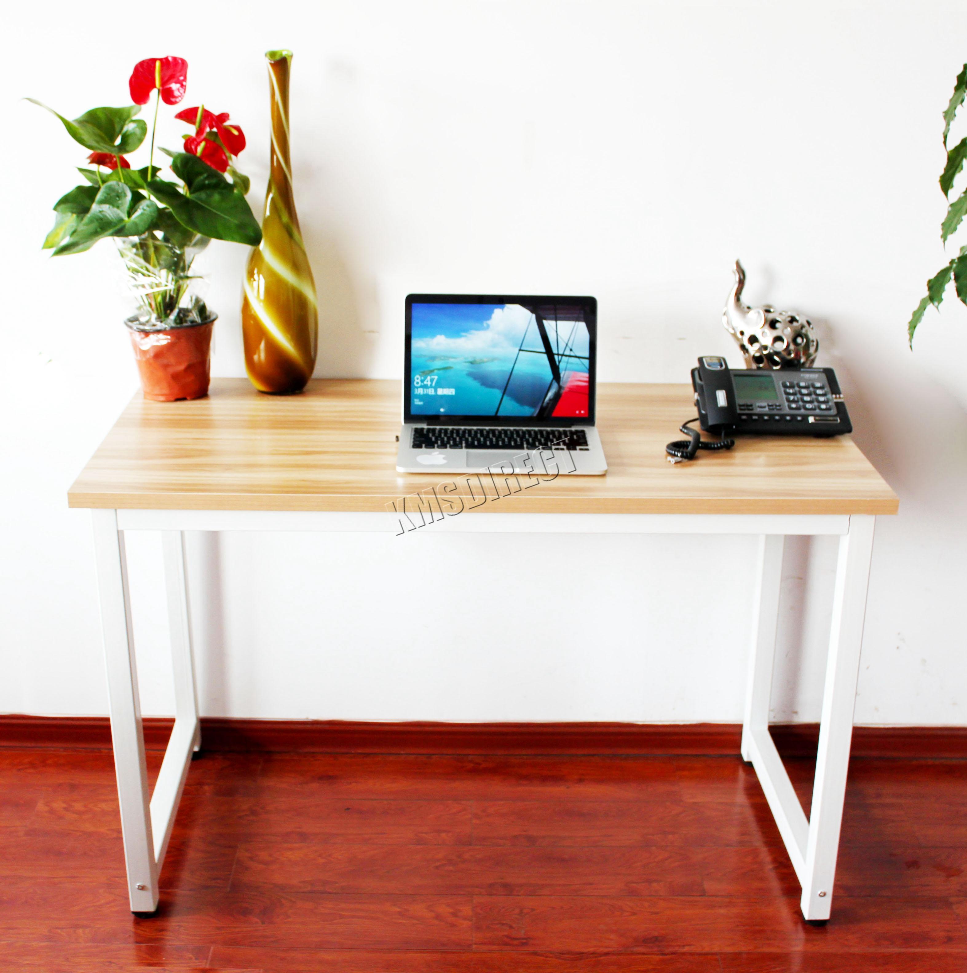 Westwood Pc Computer Desk Corner Wooden Desktop Table Office  # Table Ordi En Bois