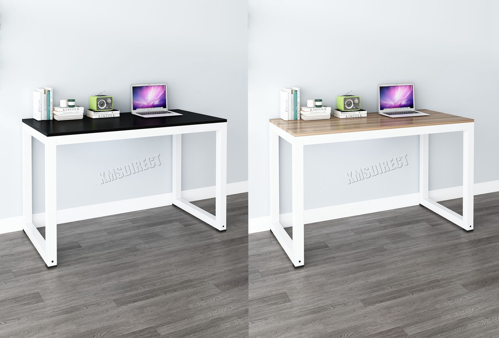 Westwood pièce ordinateur bureau coin en bois à poser table poste