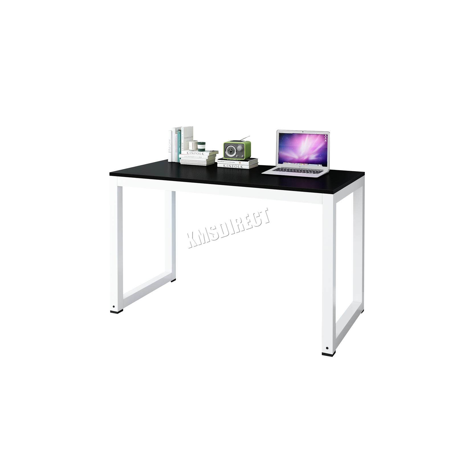 Westwood pièce ordinateur bureau coin en bois à poser table poste de
