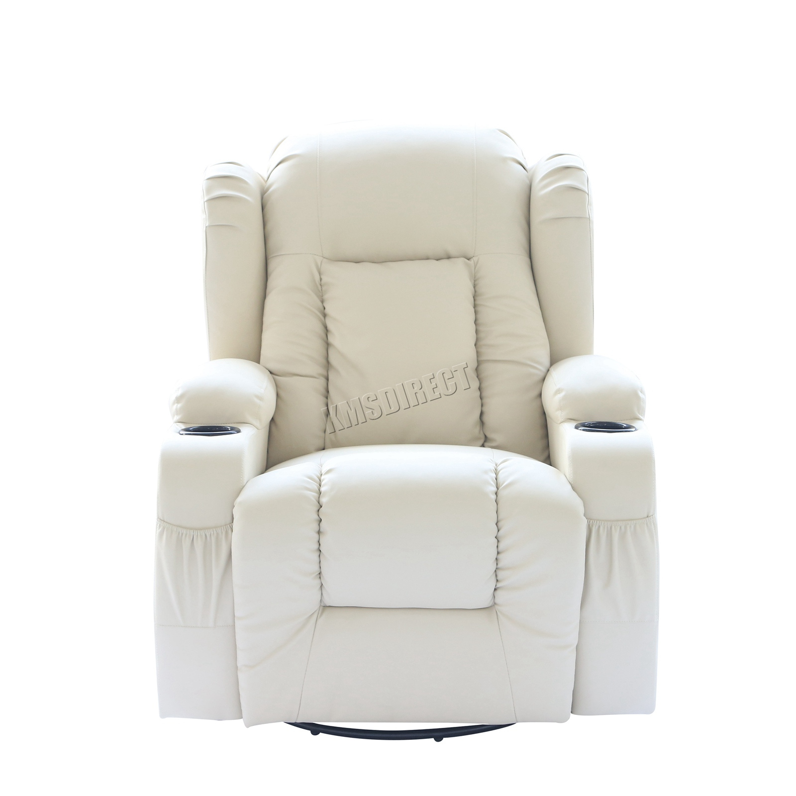 Outstanding Details About Westwood Leather Recliner Armchair Swivel Heated Chair Massage Gaming Chair Machost Co Dining Chair Design Ideas Machostcouk