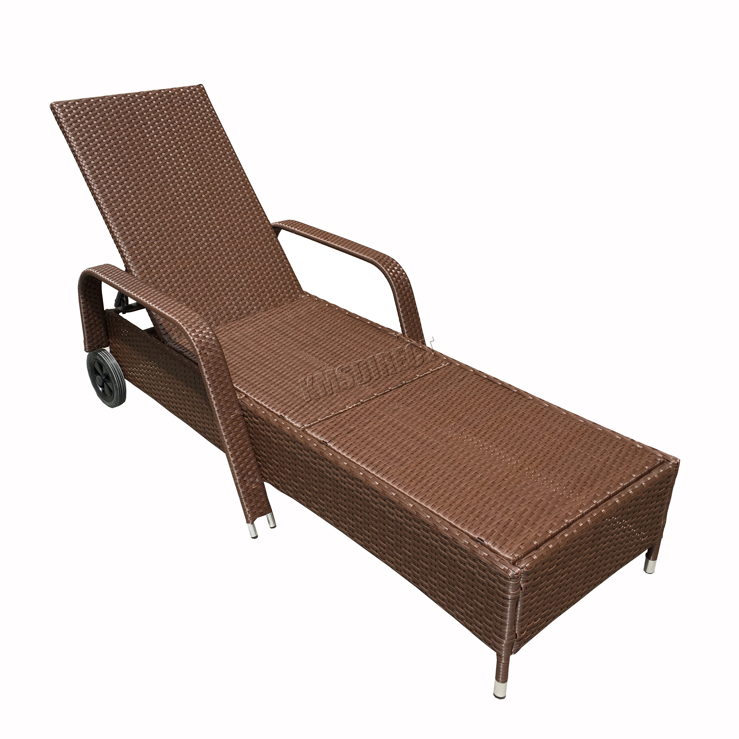 Westwood Rattan Day Chair Recliner Sun Bed Lounger Outdoor