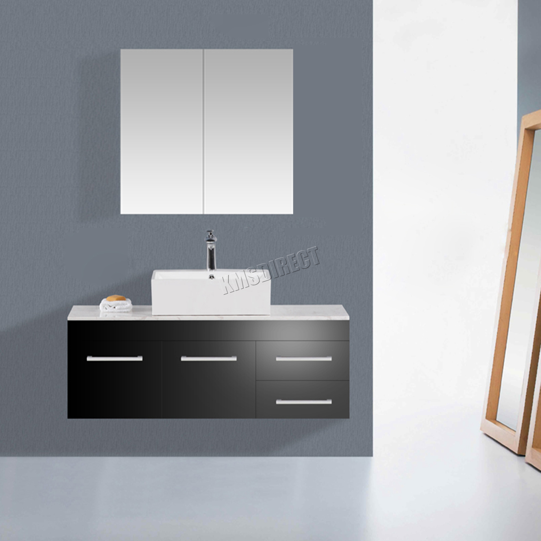 Bathroom cupboard with mirror