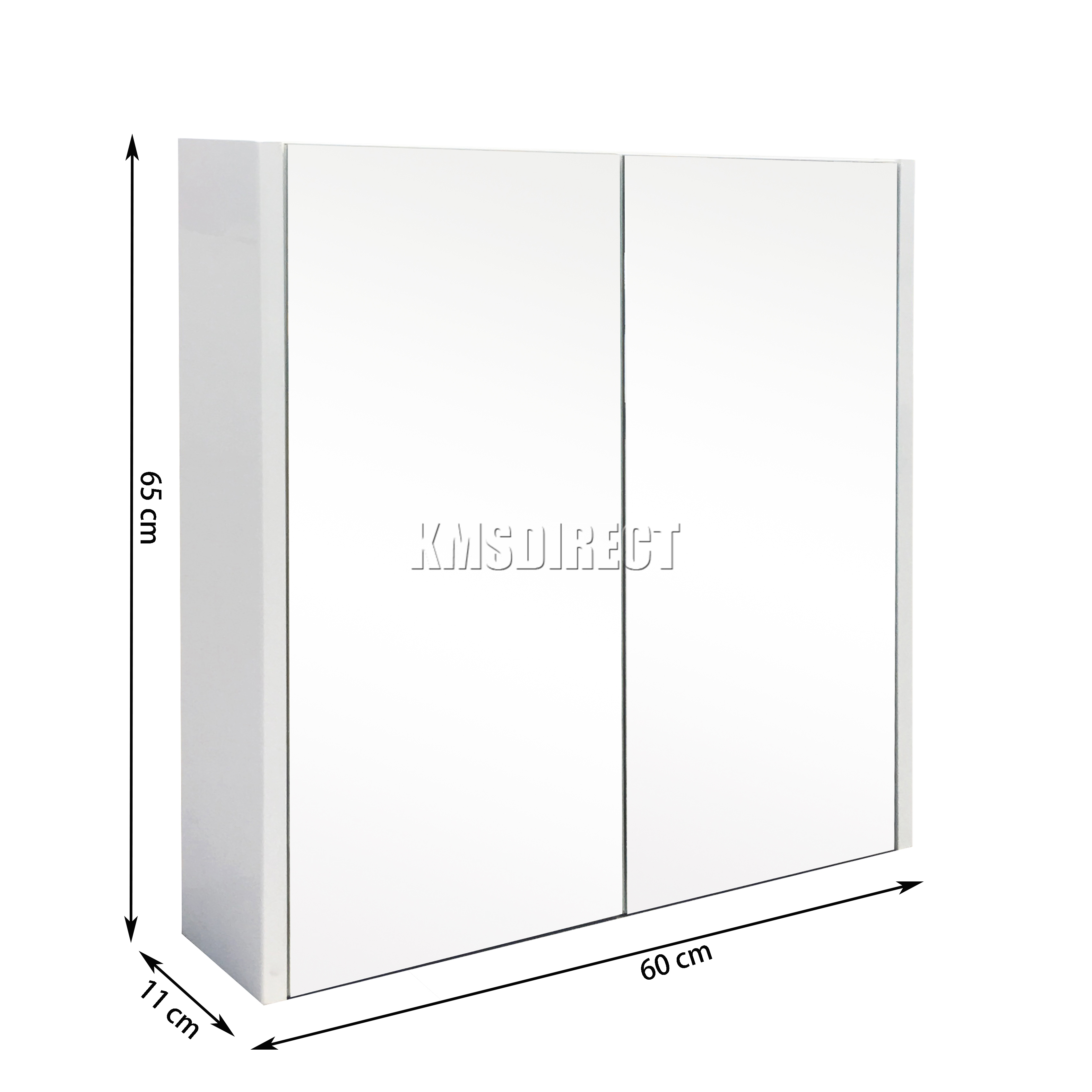 Westwood Wall Mount Mirror Bathroom Cabinet Unit Storage Cupboard W Shelf White Ebay