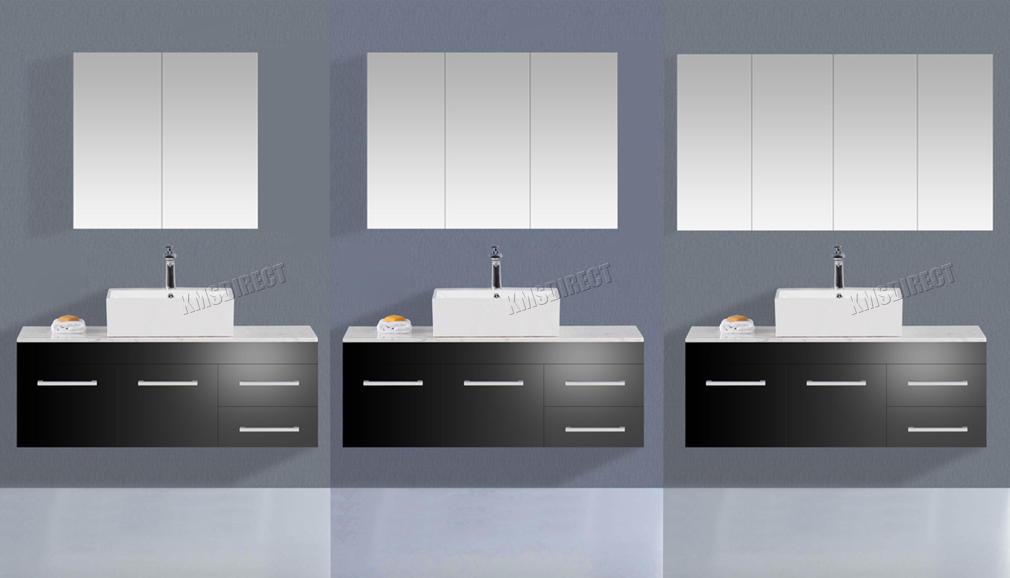 1b723762088b Westwood Wall Mount Mirror Bathroom Cabinet Unit Storage Cupboard W